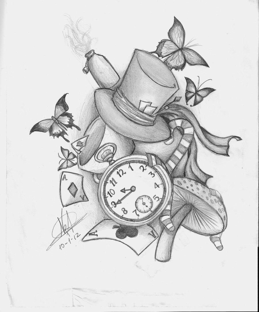 10 Trendy Alice In Wonderland Tattoo Ideas alice in wonderland tattoos tattoo ideas tattoos pinterest 1 2021