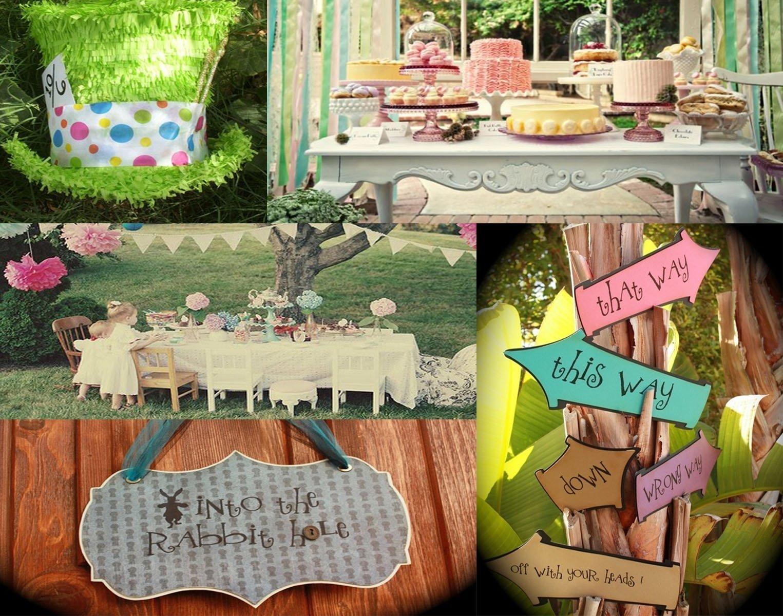 10 Great Alice In Wonderland Decorating Ideas alice wonderland party decorations store deboto home design