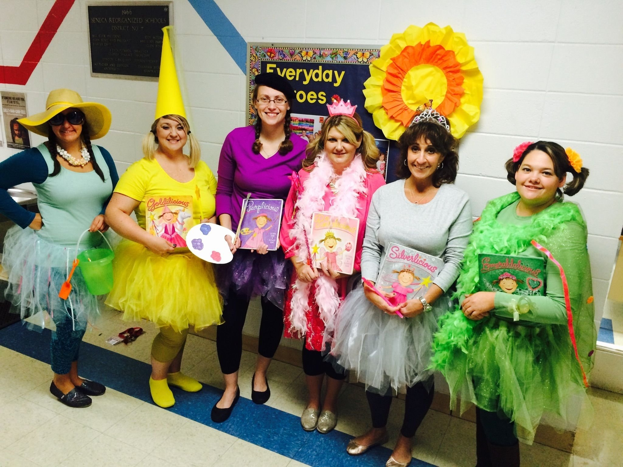 10 Pretty Group Costume Ideas For 6 all 6 pinkalicious storybook characters pinkalicious 2020