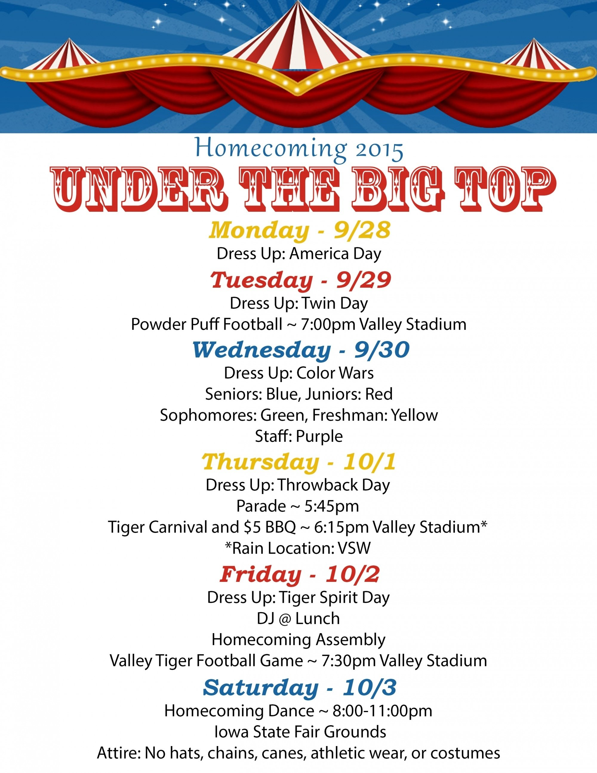 10 Cute Homecoming Dress Up Days Ideas all about homecoming 2015 west des moines community schools 1