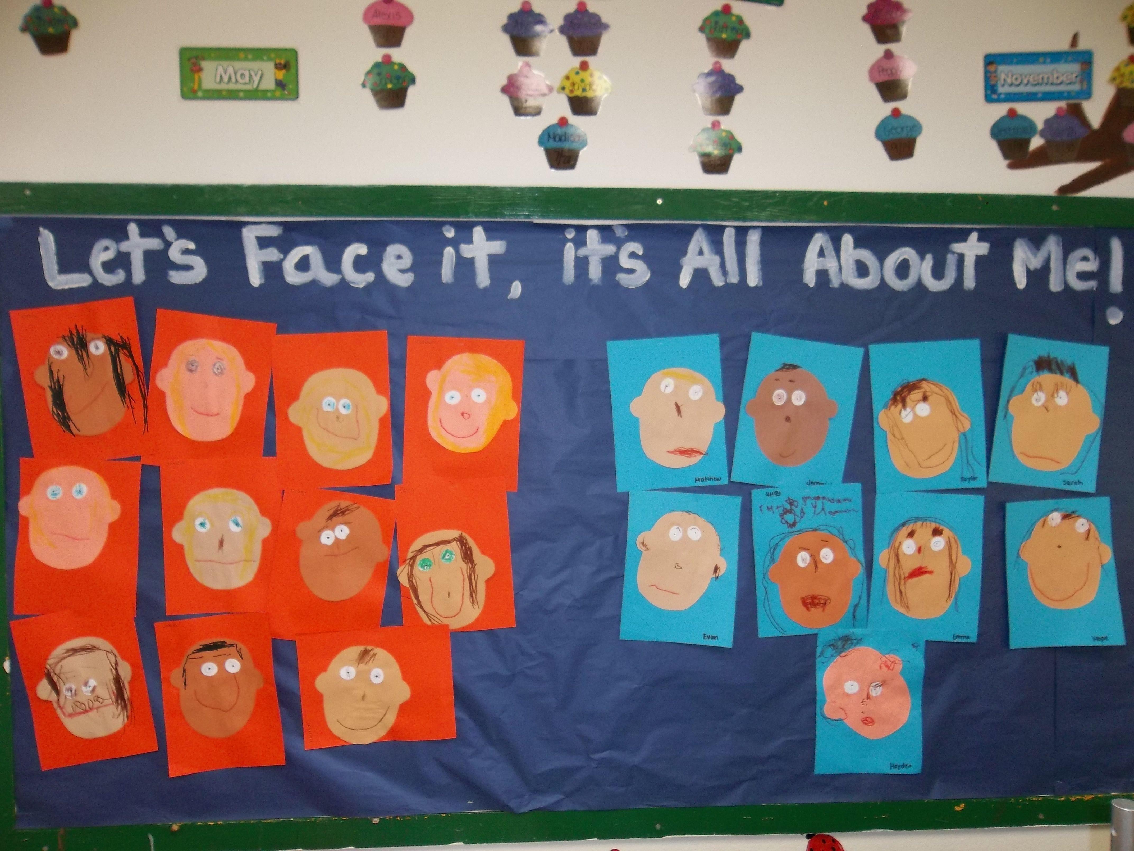 all about me bulletin board idea! | my preschool classroom