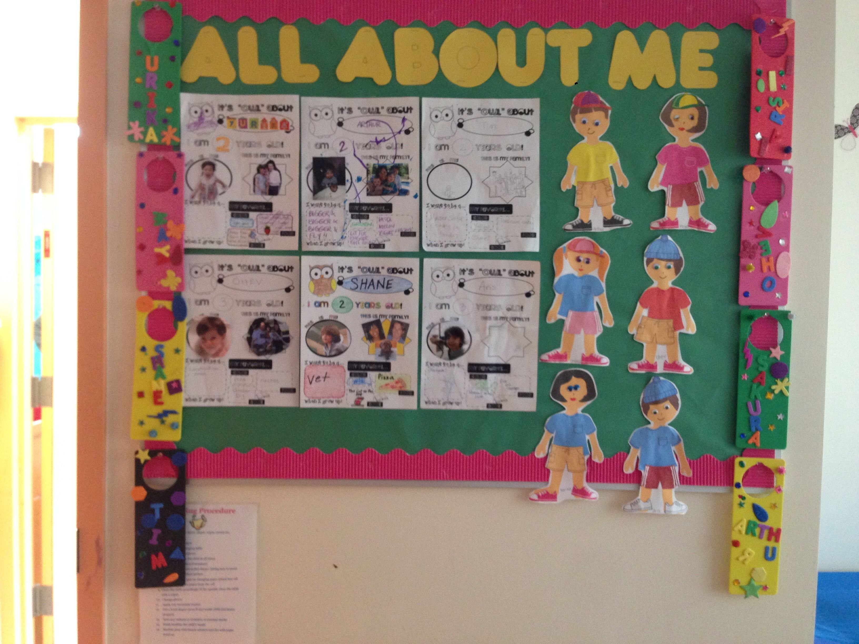 10 Most Recommended All About Me Bulletin Board Ideas all about me bulletin board ideas preschool pinterest