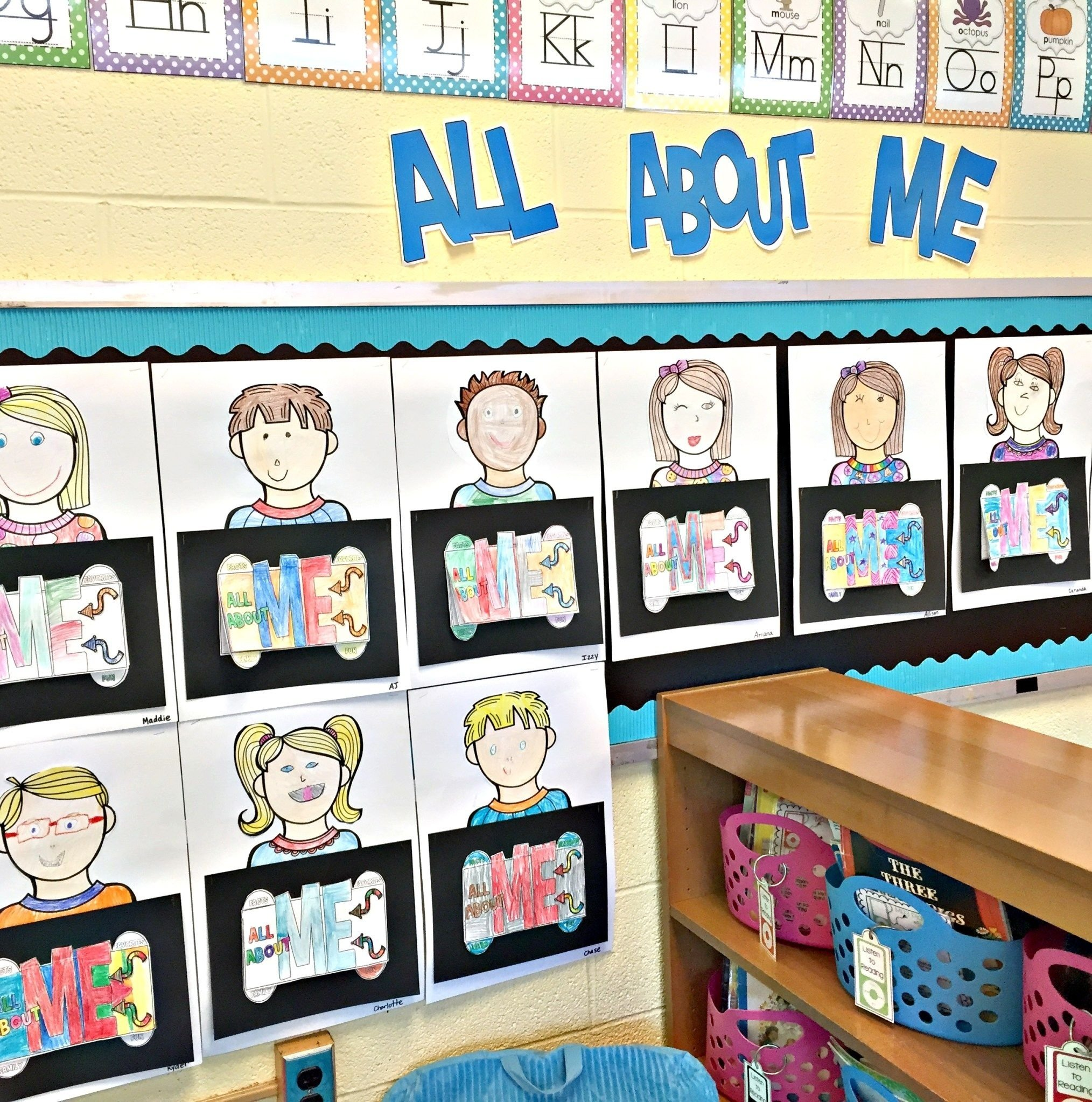 10 Most Recommended All About Me Bulletin Board Ideas all about me project back to school bulletin board display 2 2020