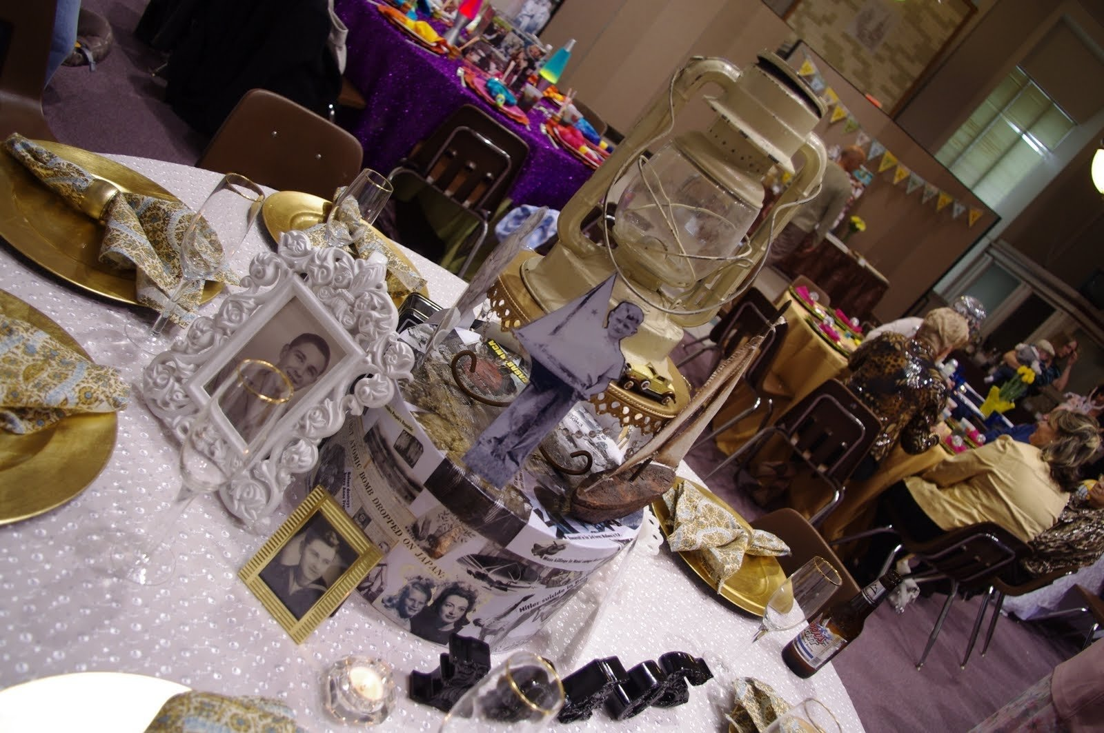 10 Nice 80Th Birthday Ideas For Dad all about the tables my dads 80th birthday surprise party