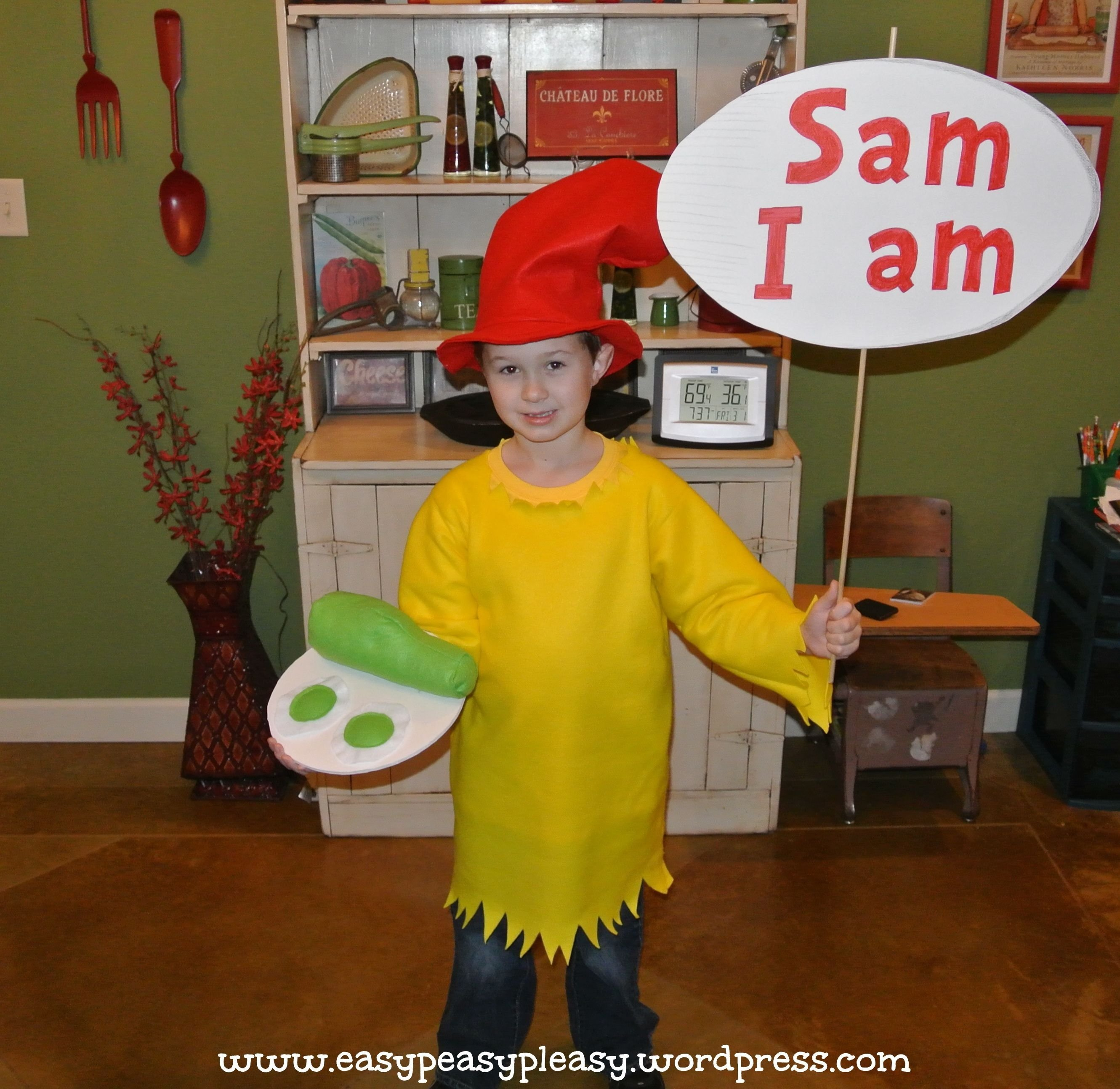 10 Stylish Easy Dr Seuss Costume Ideas all things dr seuss sam i am costume easy peasy costumes and 2020