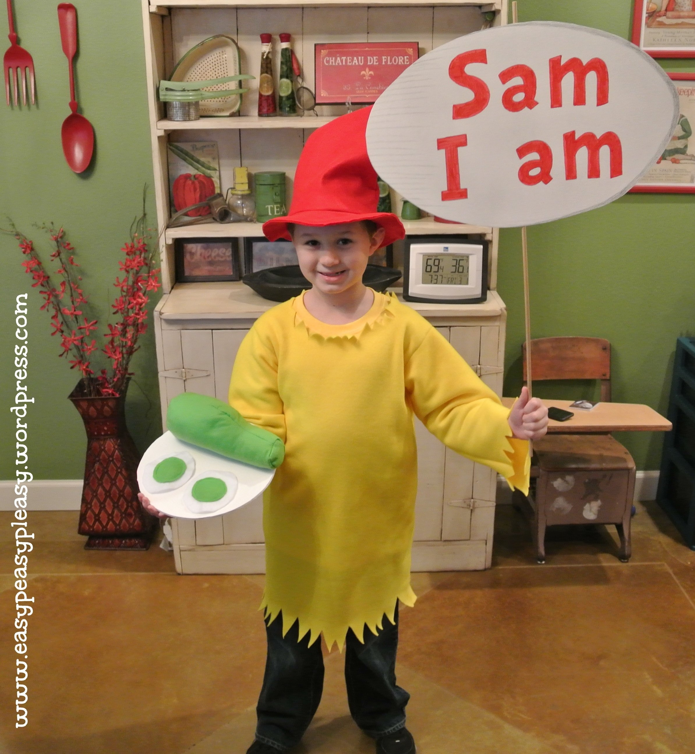 10 Stylish Easy Dr Seuss Costume Ideas all things dr seuss sam i am costume easy peasy pleasy 1 2020