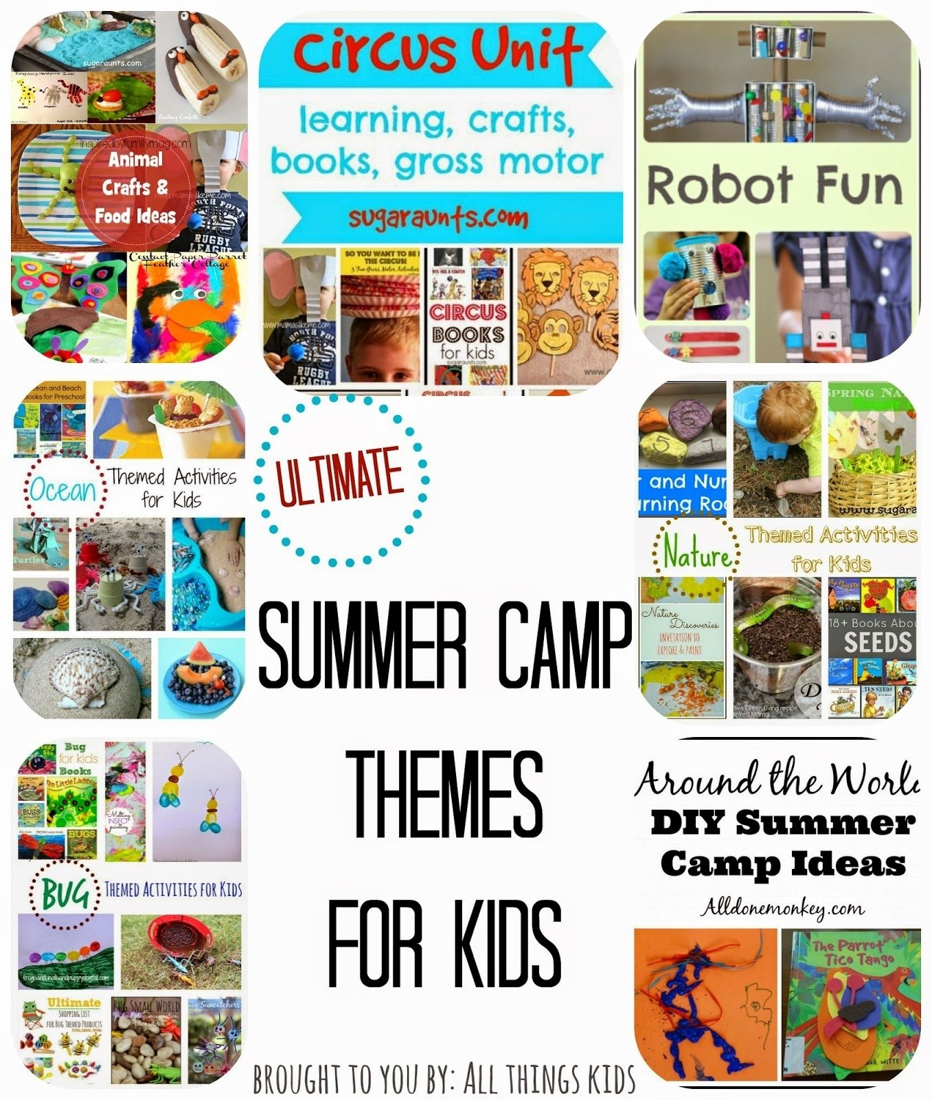 10 Perfect Preschool Summer Camp Theme Ideas all things kids summer camp themes for kids