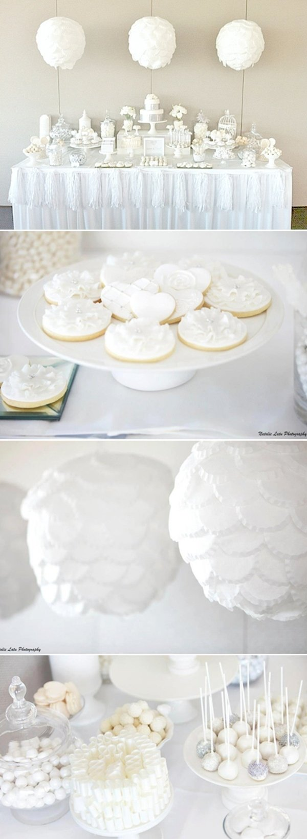 10 Amazing All White Baby Shower Ideas