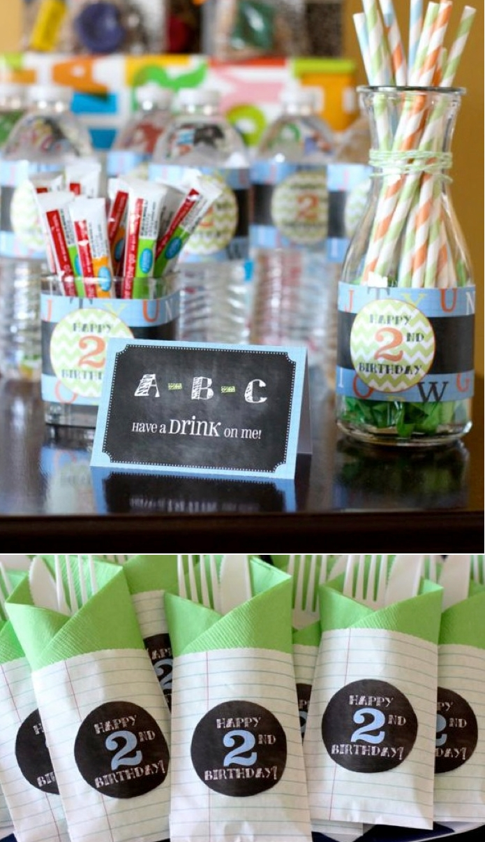 10 Spectacular Fun Party Ideas For Adults alphabet abc themed 2nd birthday party abc birthday parties 2020