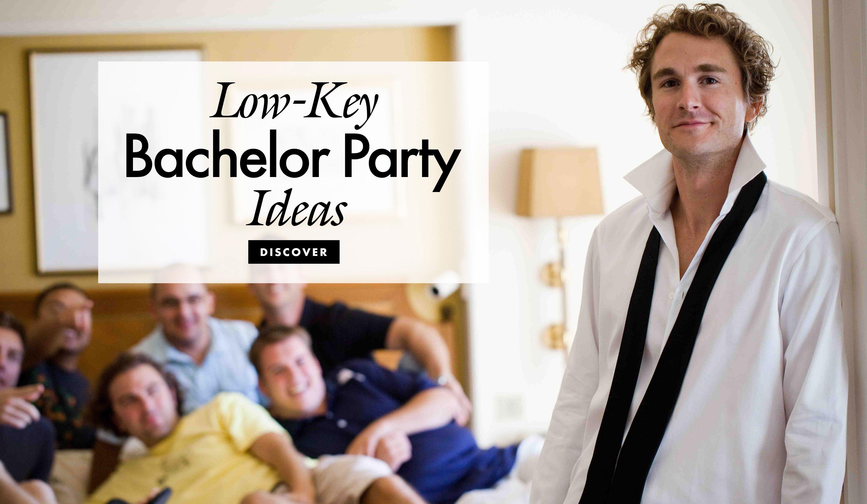 alternative ideas for bachelor parties - inside weddings