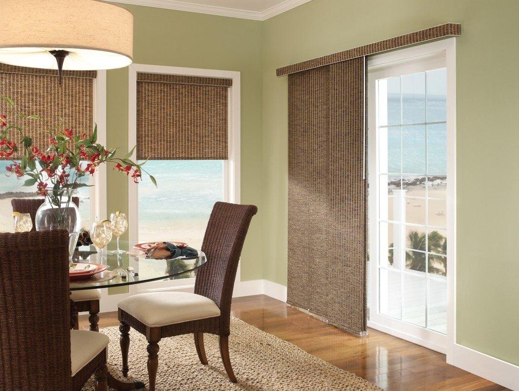 10 Wonderful Window Treatment Ideas For Sliding Glass Doors alternative patio door window treatments grande room patio door 2020