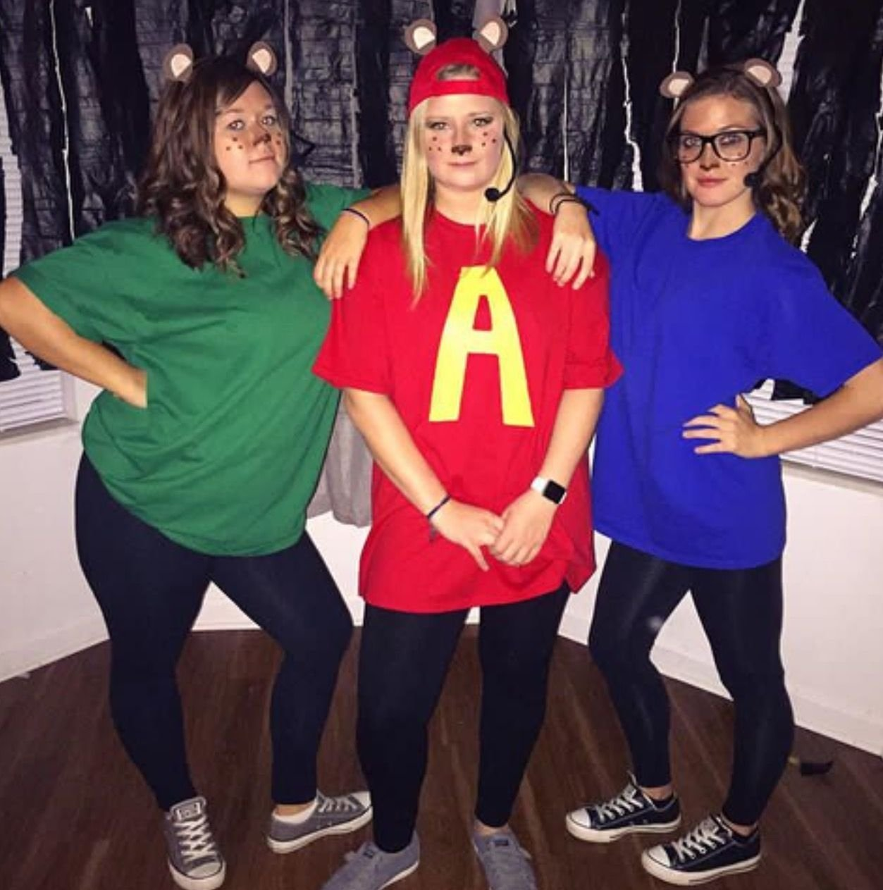 10 Awesome Halloween Costume Ideas For 3 People alvin and the chipmunks halloween costume for three people fall 1 2020
