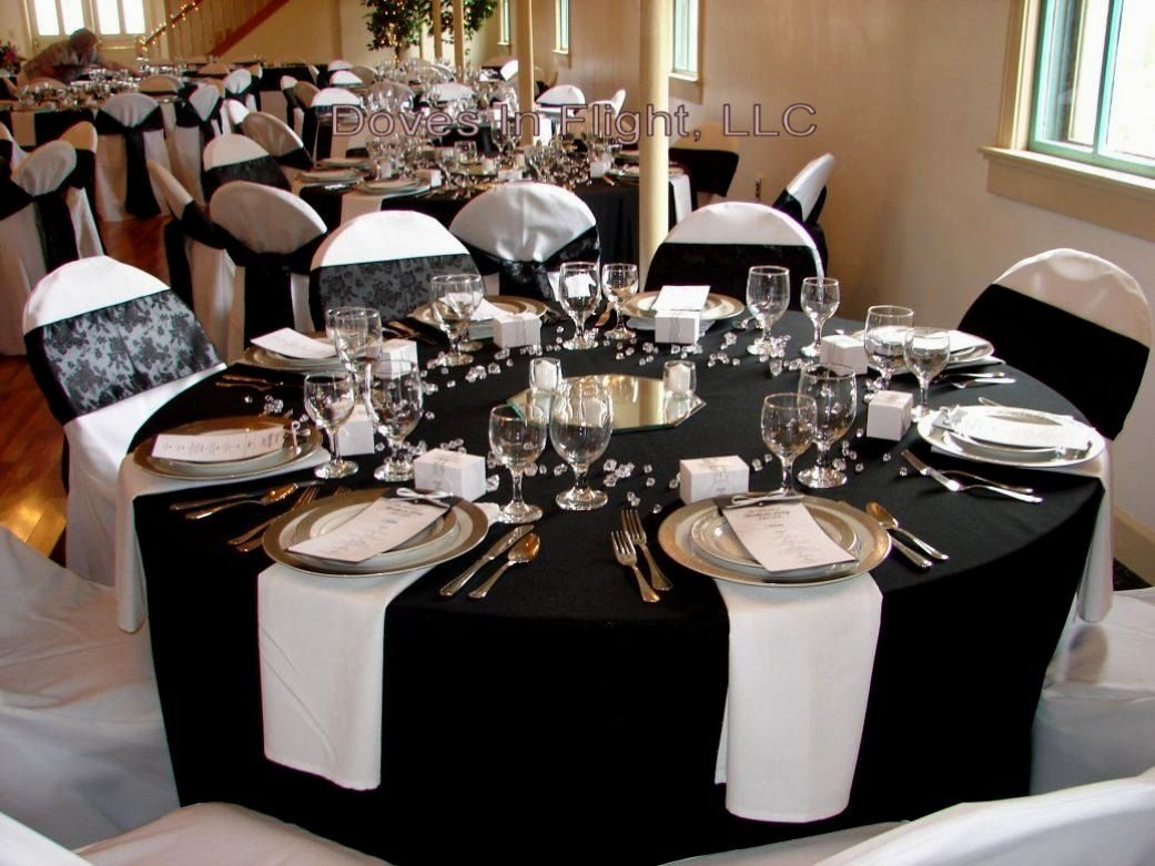 10 Fantastic Black And Gold Party Ideas amazing black white themed party decorations decorating of party 2