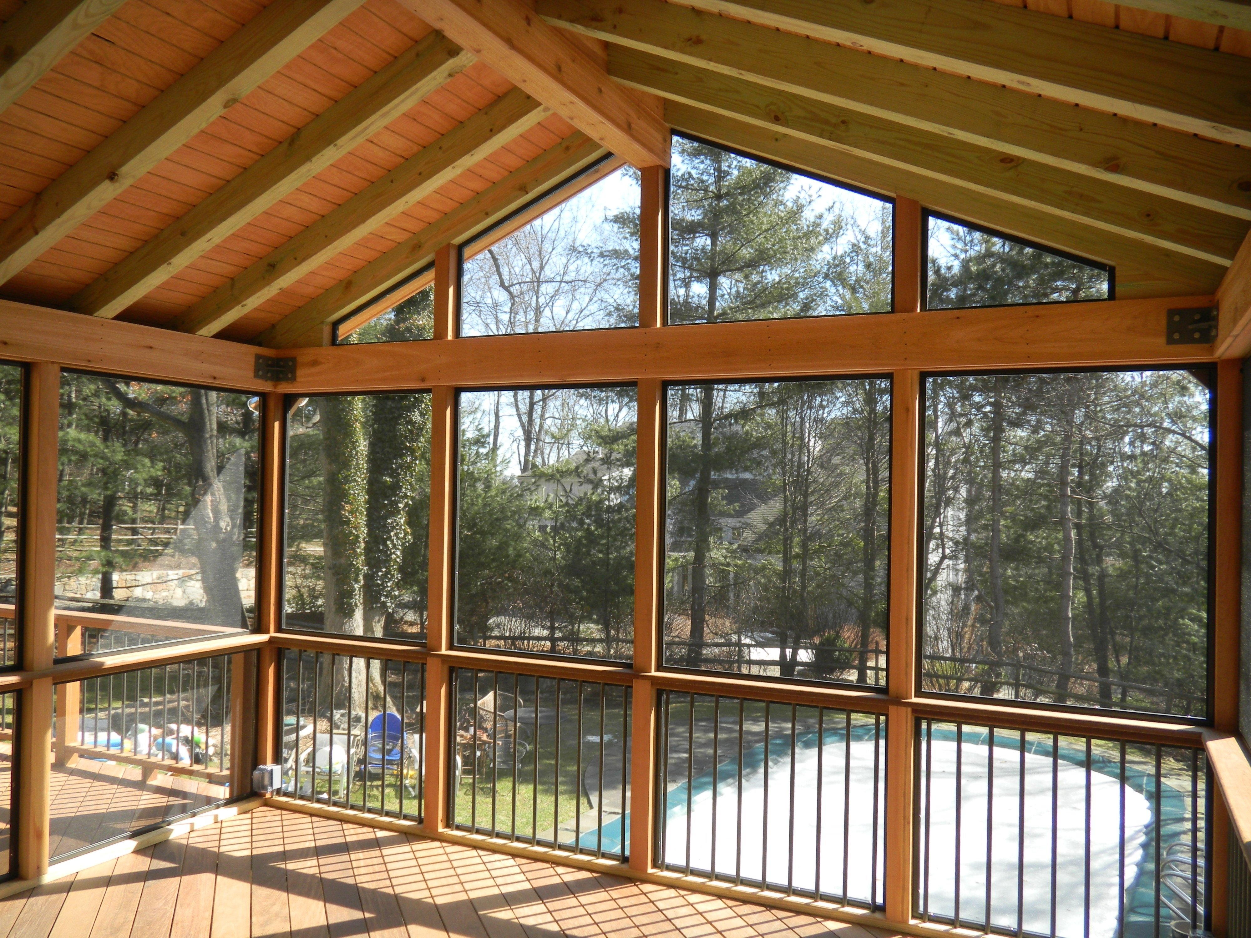 10 Trendy Ideas For Screened In Porches amazing brushed bronze frames custom screen porch ideas for covers 2020