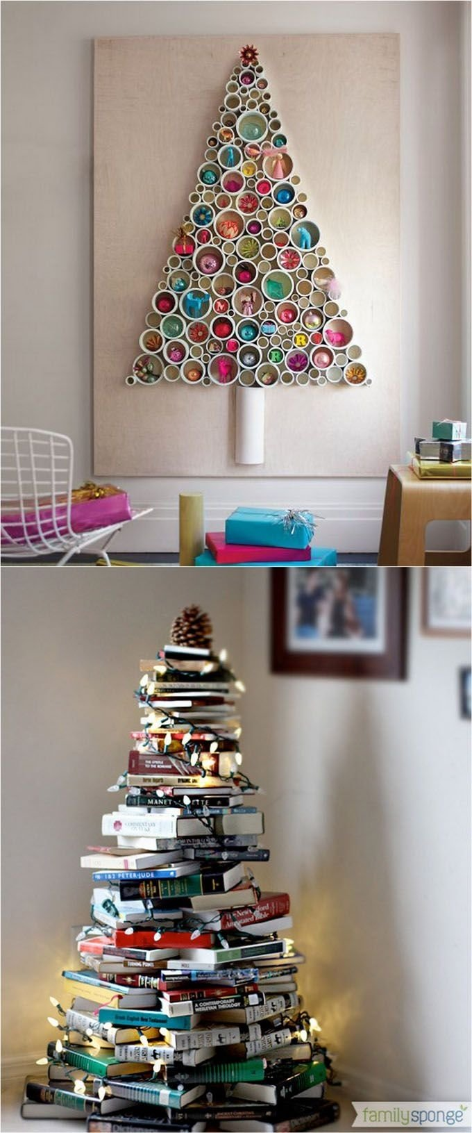 10 Pretty Unique Christmas Tree Decorating Ideas amazing christmas decoration ideas diy christmas trees unique 1