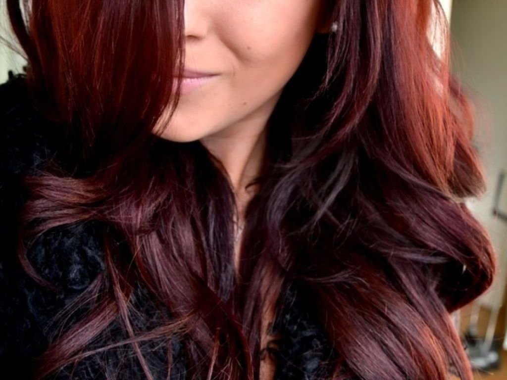 10 Attractive Cute Hair Color Ideas For Dark Hair amazing copper hair color for haircuts hairstyles dark red long cute 2020