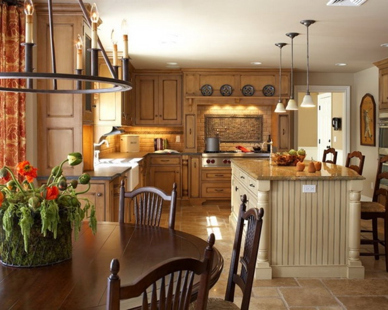 10 Most Popular Country Kitchen Decorating Ideas On A Budget amazing country kitchen decorating ideas about remodel resident 2020
