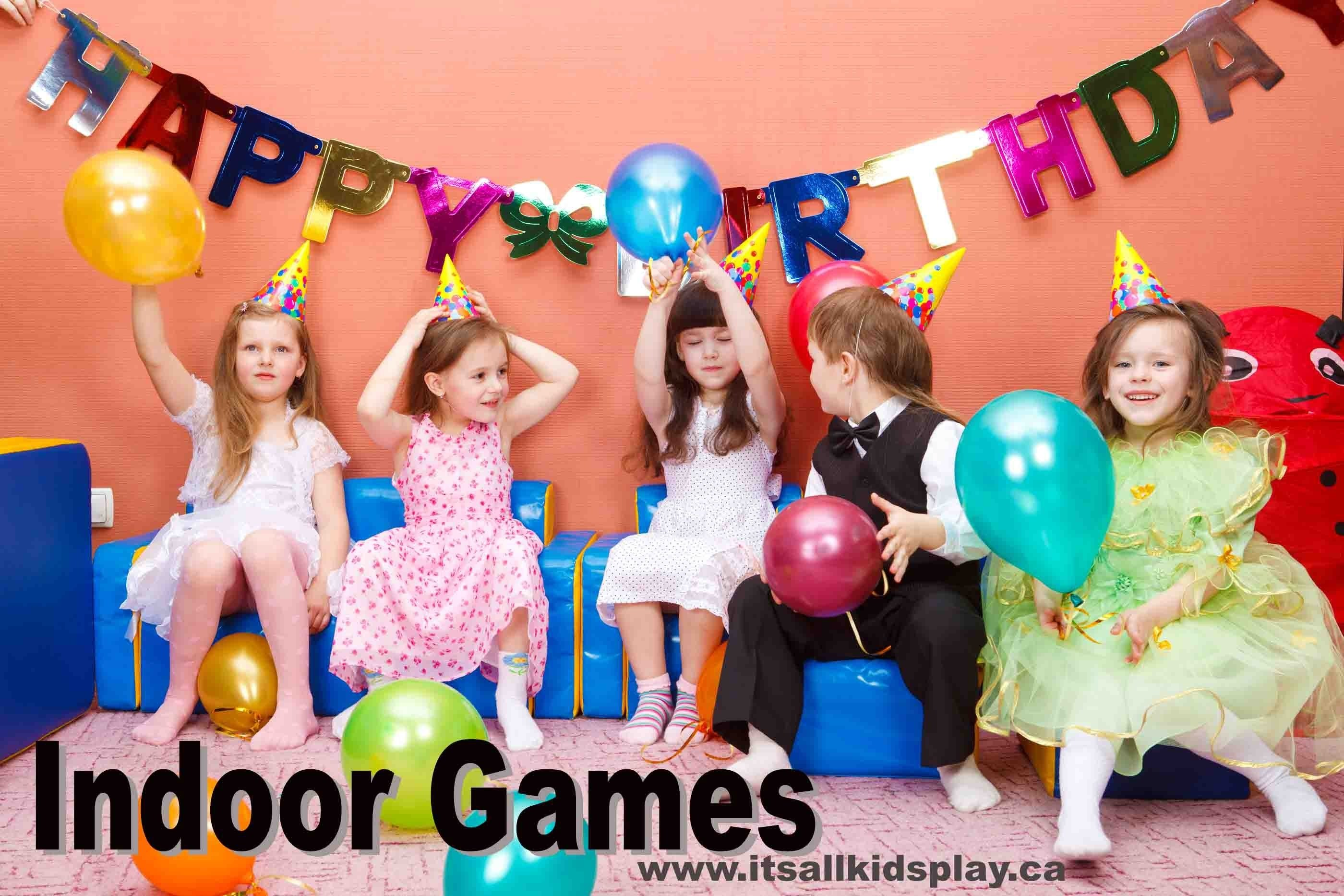 10 cute game ideas for kids birthday party