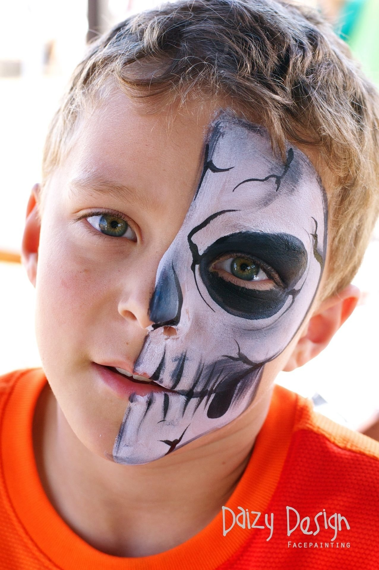 10 Fantastic Kids Halloween Face Painting Ideas amazing kids face painting ideaschristy lewis face paintings 2
