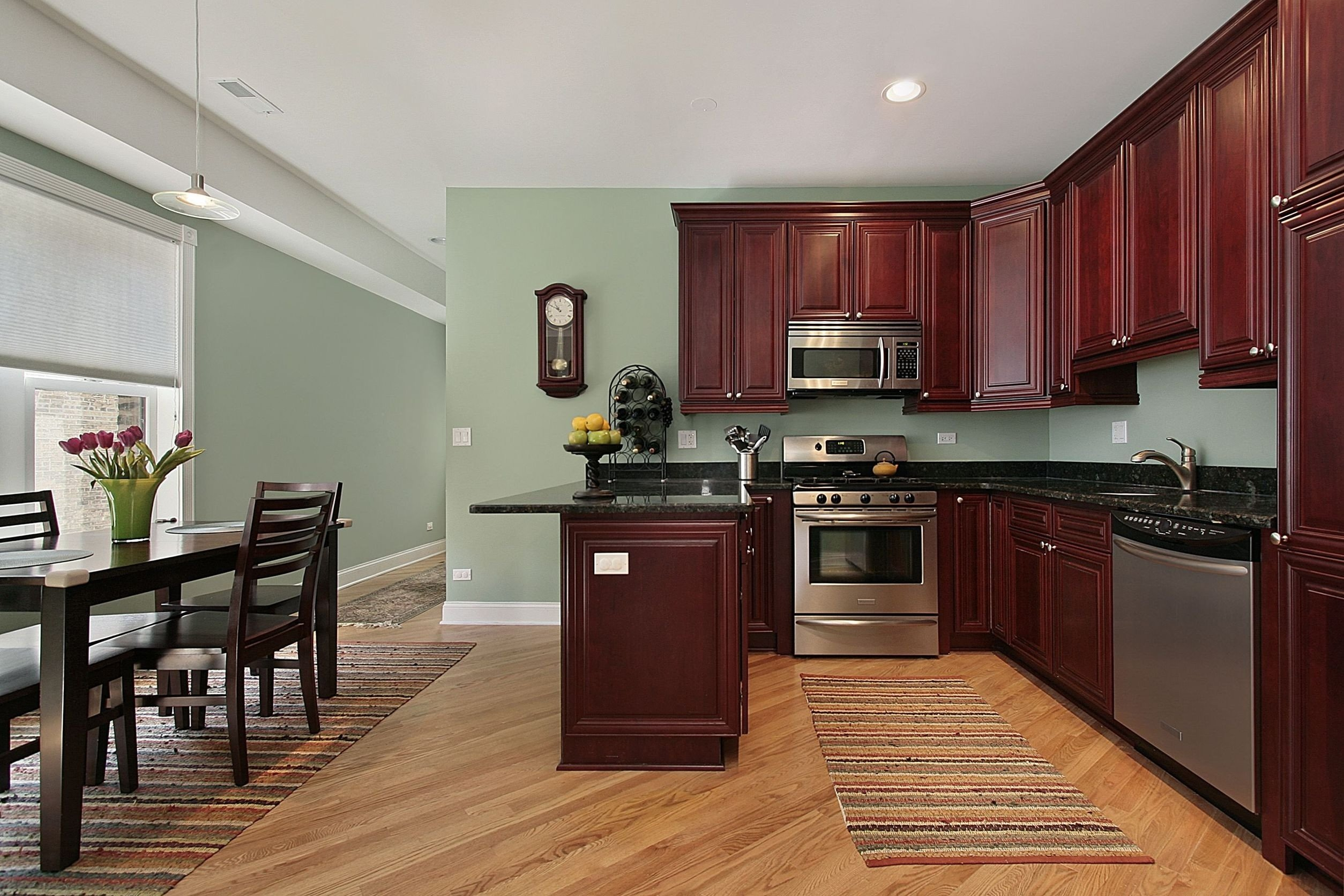 10 Lovable Kitchen Color Ideas With Maple Cabinets amazing kitchen paint colors with maple cabinets aeaart design 2020