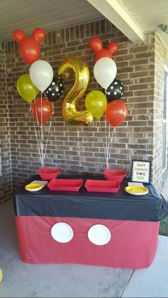 10 Nice Mickey Mouse Birthday Decoration Ideas amazing mickey mouse first birthday decorations 3 mickey mouse 2020