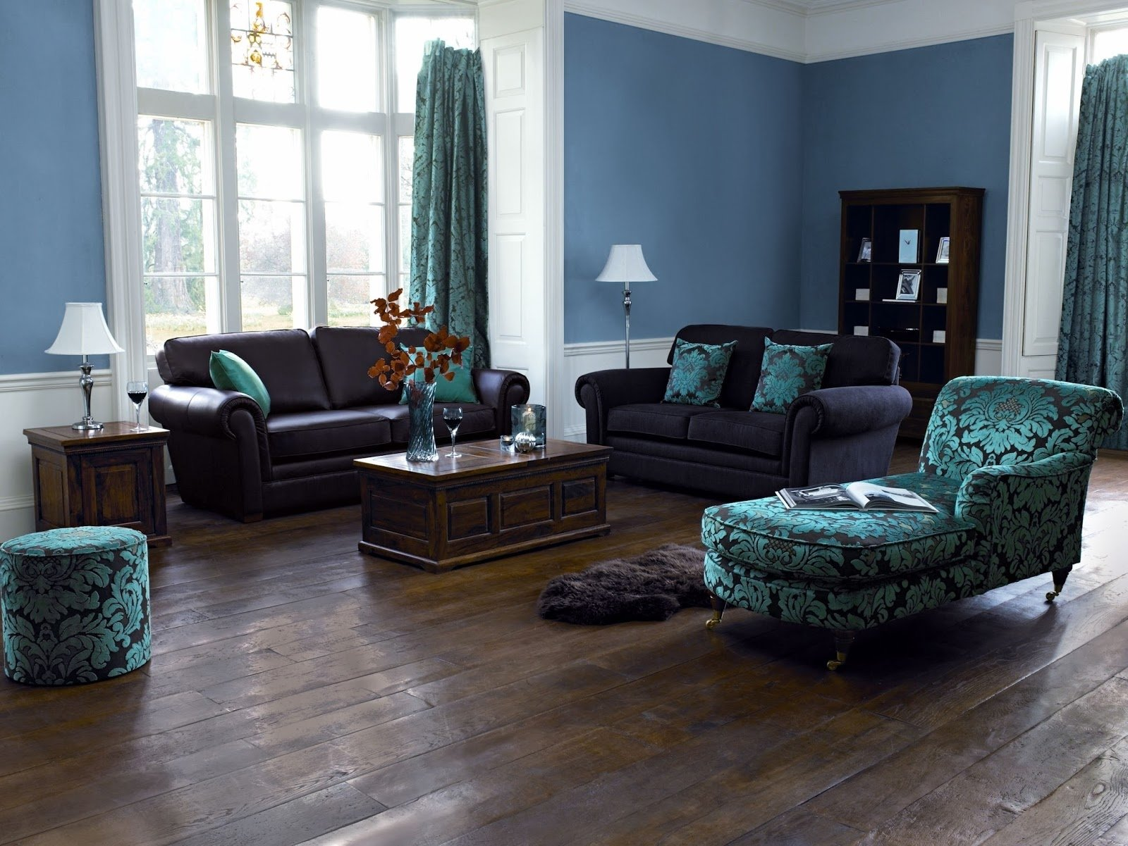 10 Attractive Blue And Brown Living Room Ideas amazing of extraordinary blue and brown living room decor 991
