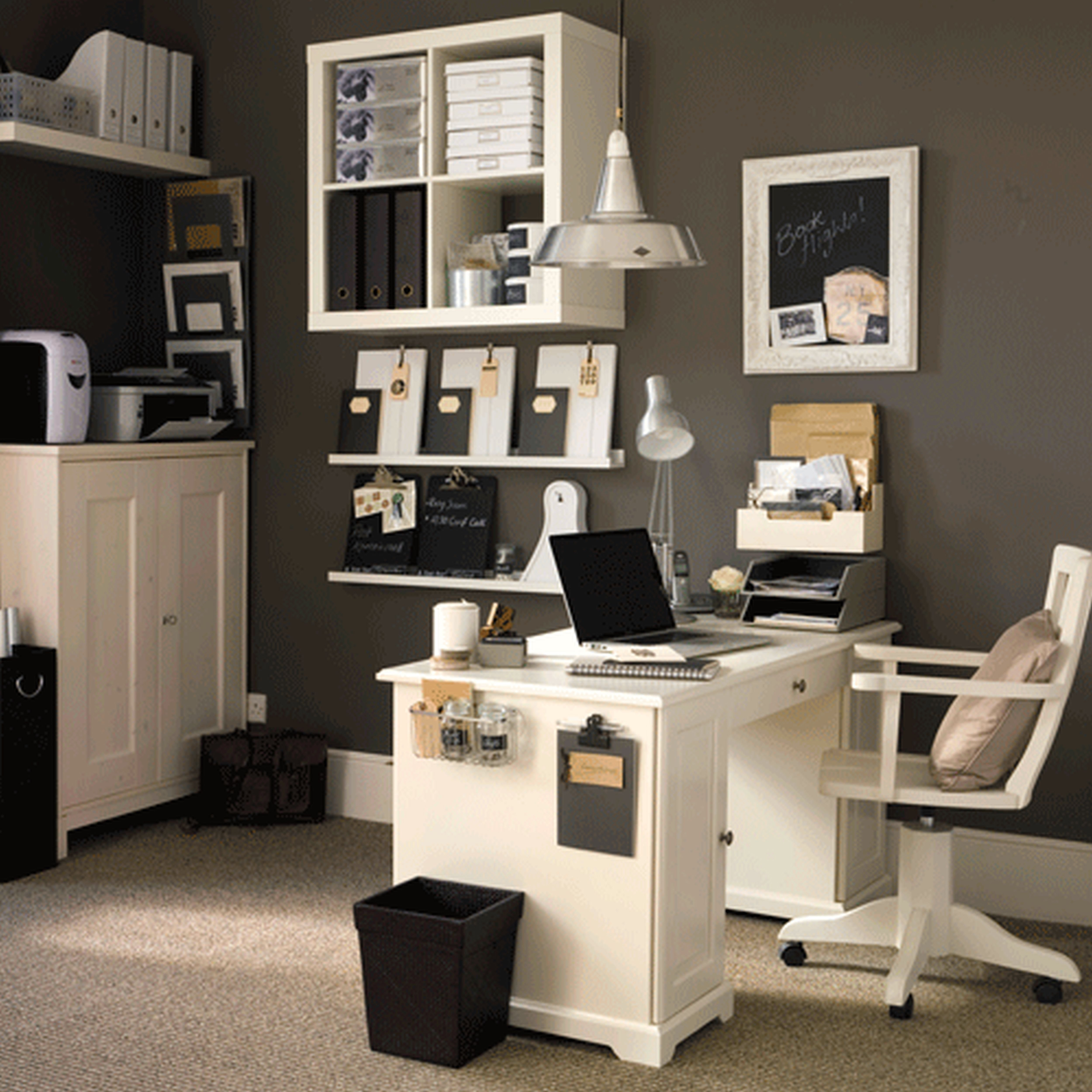 10 Best Decorating Ideas For Home Office amazing of white office decorating ideas cagedesigngroup 2020