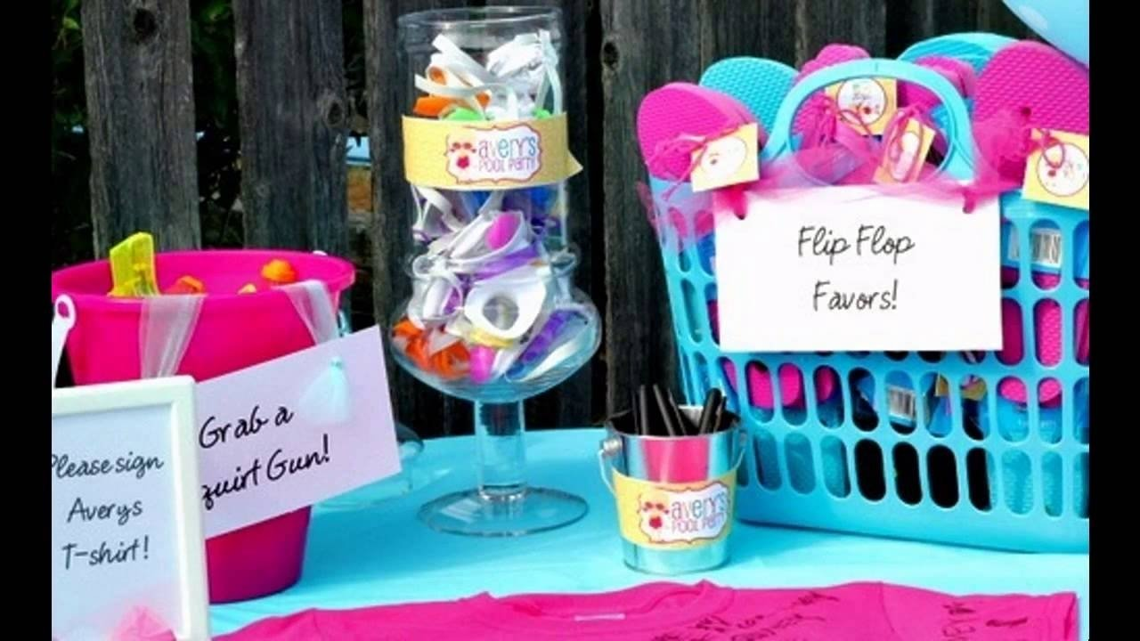 10 Most Popular Pool Party Ideas For Tweens amazing pool party ideas for kids youtube 1