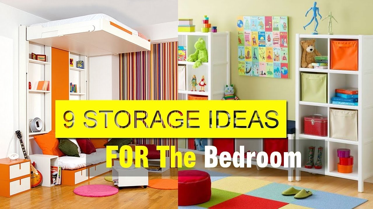 10 Nice Storage Ideas For Small Rooms amazing storage ideas for small spaces youtube 1 2020
