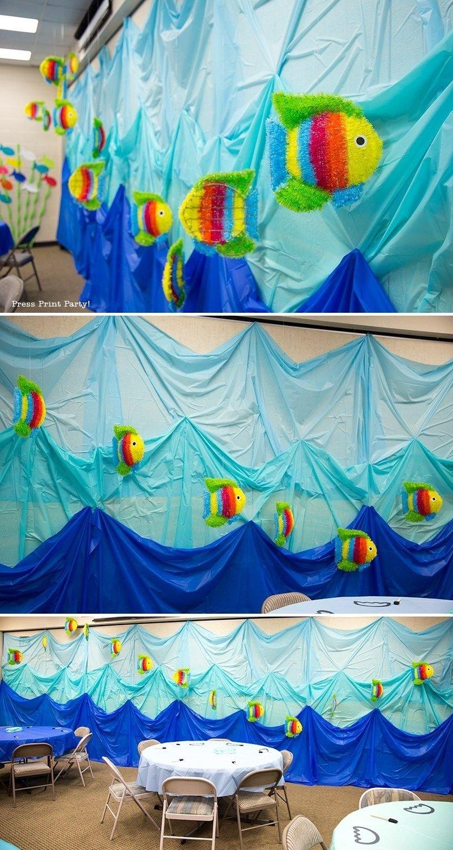10 Fabulous Under The Sea Party Decoration Ideas amazing under the sea decorations mermaid ocean and fish 2021