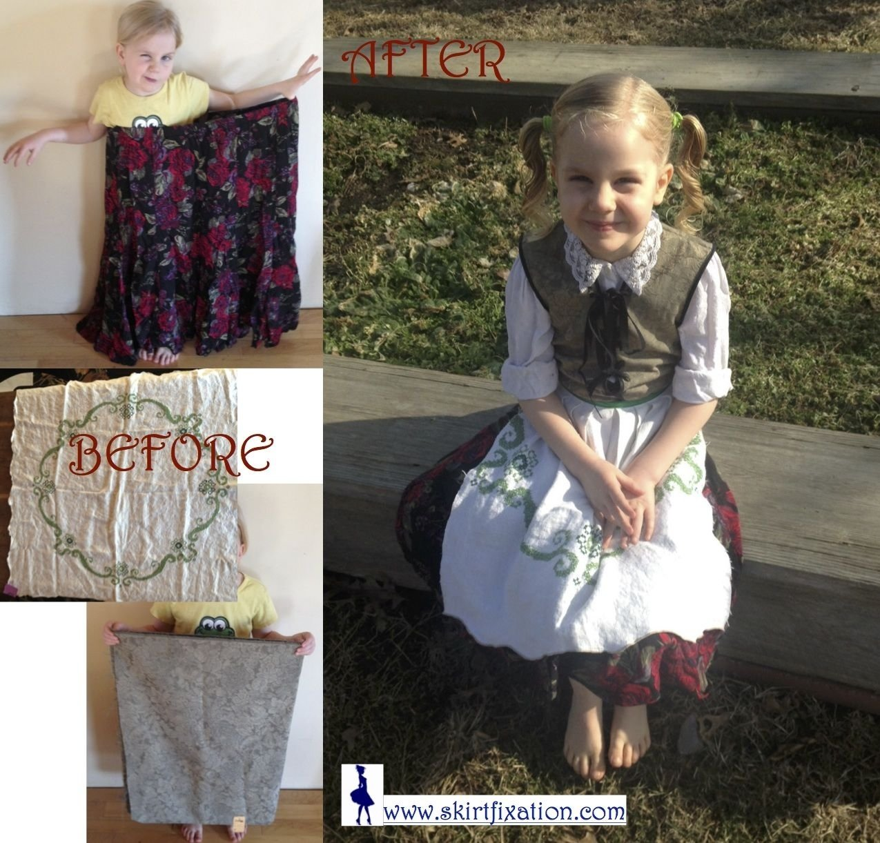 10 Most Recommended Sound Of Music Costume Ideas amazing upcycle to make german girl costume like gretl from the 2021