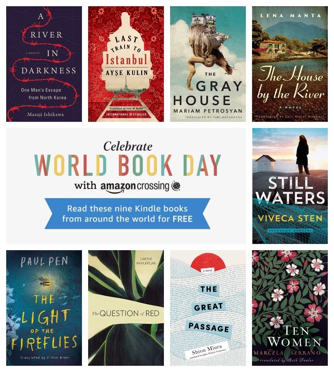 10 Wonderful Reading The World Ideas That Matter amazon celebrates world book dayoffering free kindle books in 2020