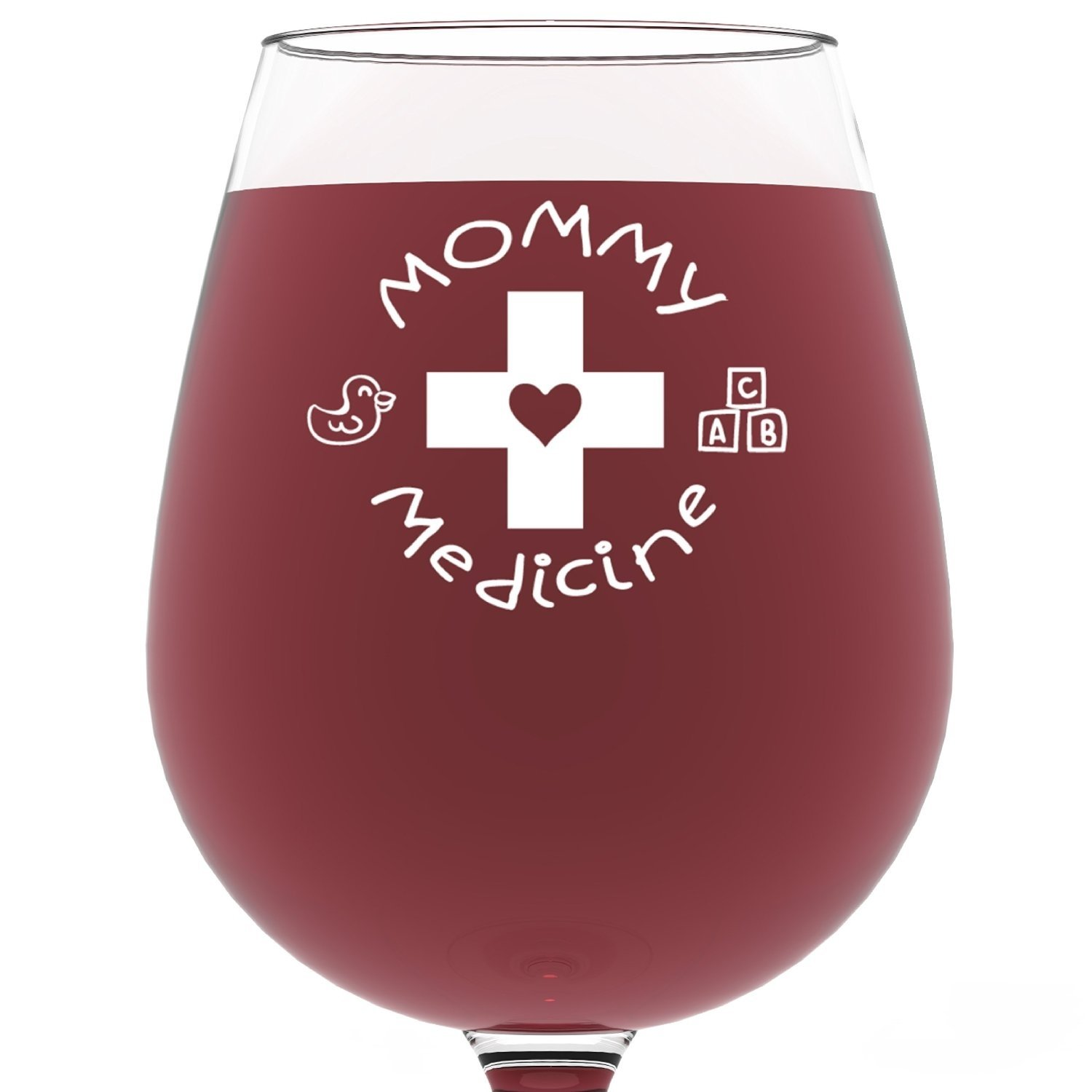 10 Most Popular Mother Day Gift Ideas For Wife amazon mommy medicine funny wine glass 13 oz best mothers