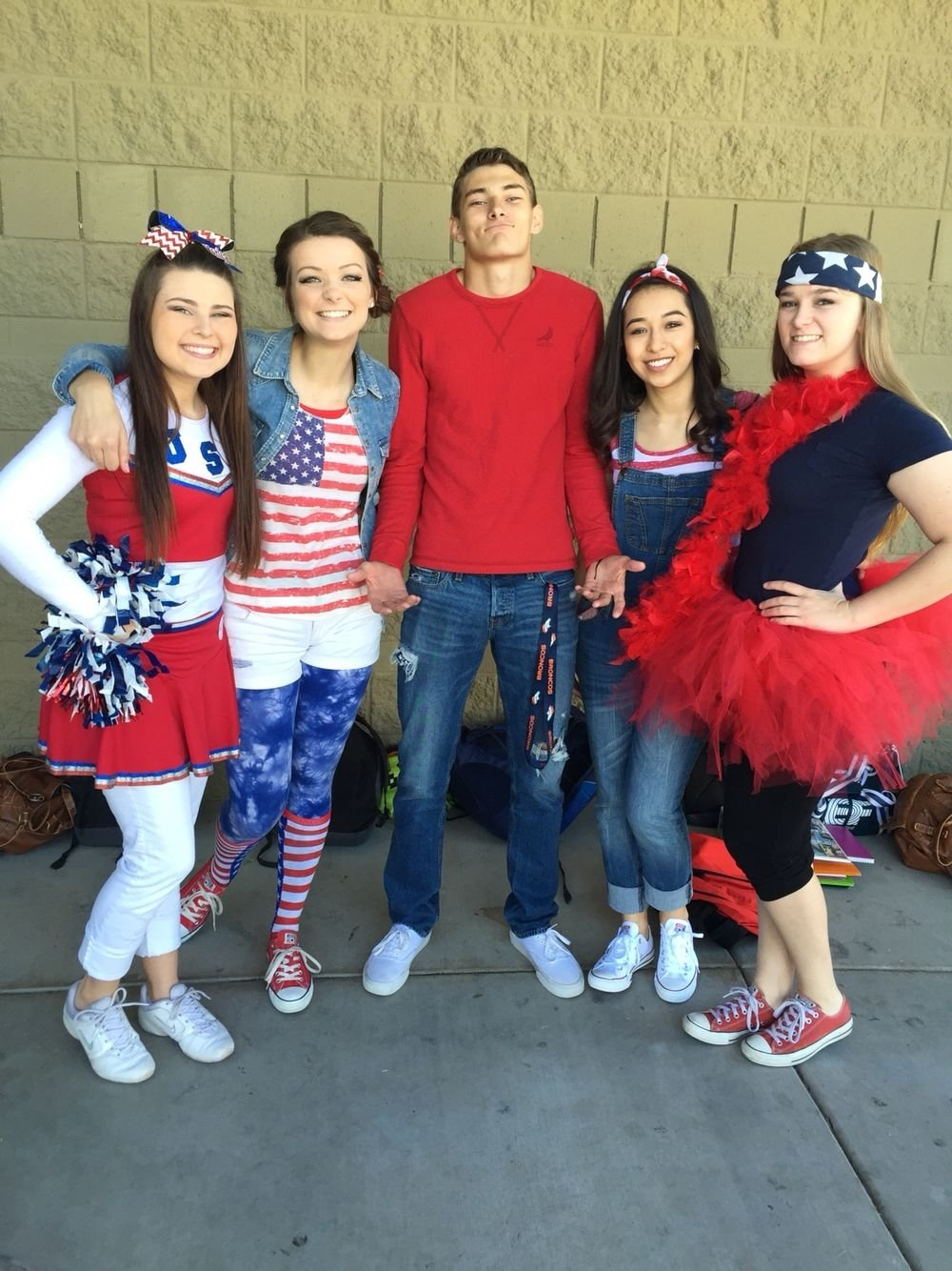 10 Lovely Twin Day Ideas For Guys america day spirit day idea student council pinterest 2 2020