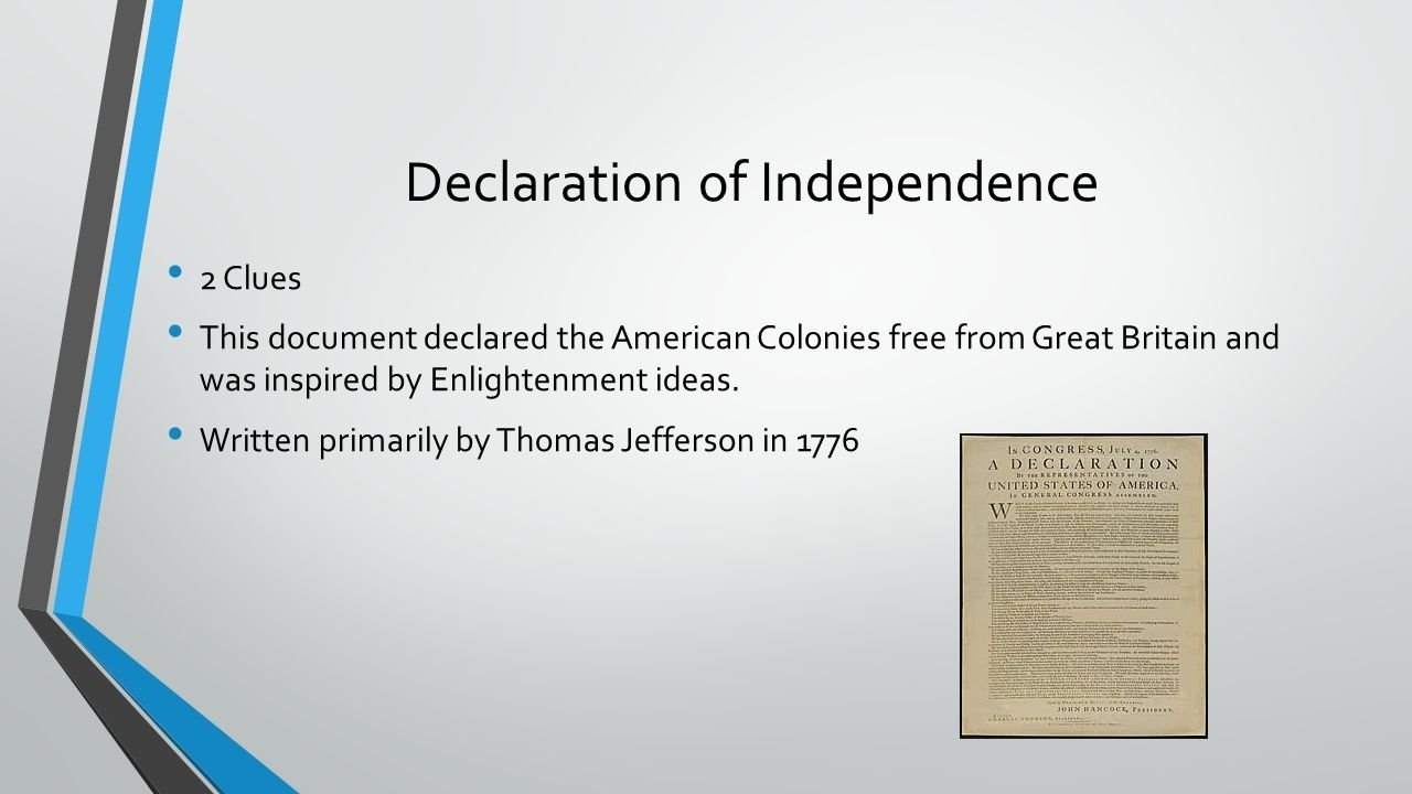 10 Amazing Enlightenment Ideas In The Declaration Of Independence american and french revolutions review mr braff ppt download 2021
