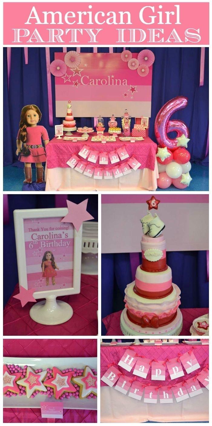 10 Spectacular American Girl Birthday Party Ideas american girl birthday american girl birthday american girl 2020