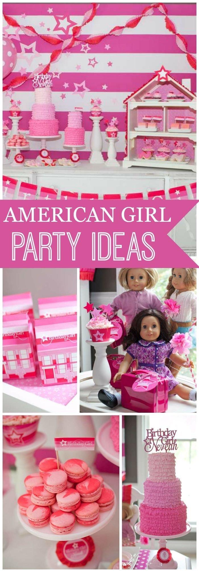 10 Spectacular American Girl Birthday Party Ideas american girl birthday american girl inspired party 2020