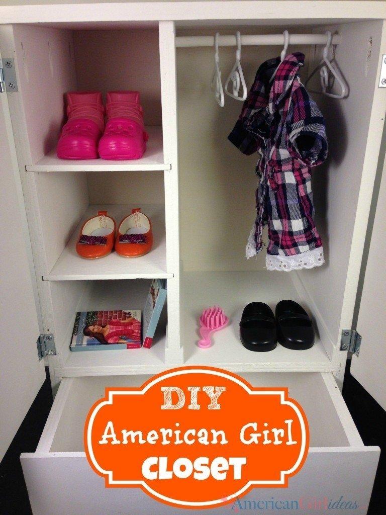 10 Spectacular American Girl Doll Storage Ideas american girl closet e280a2 american girl ideas american girl ideas 2021