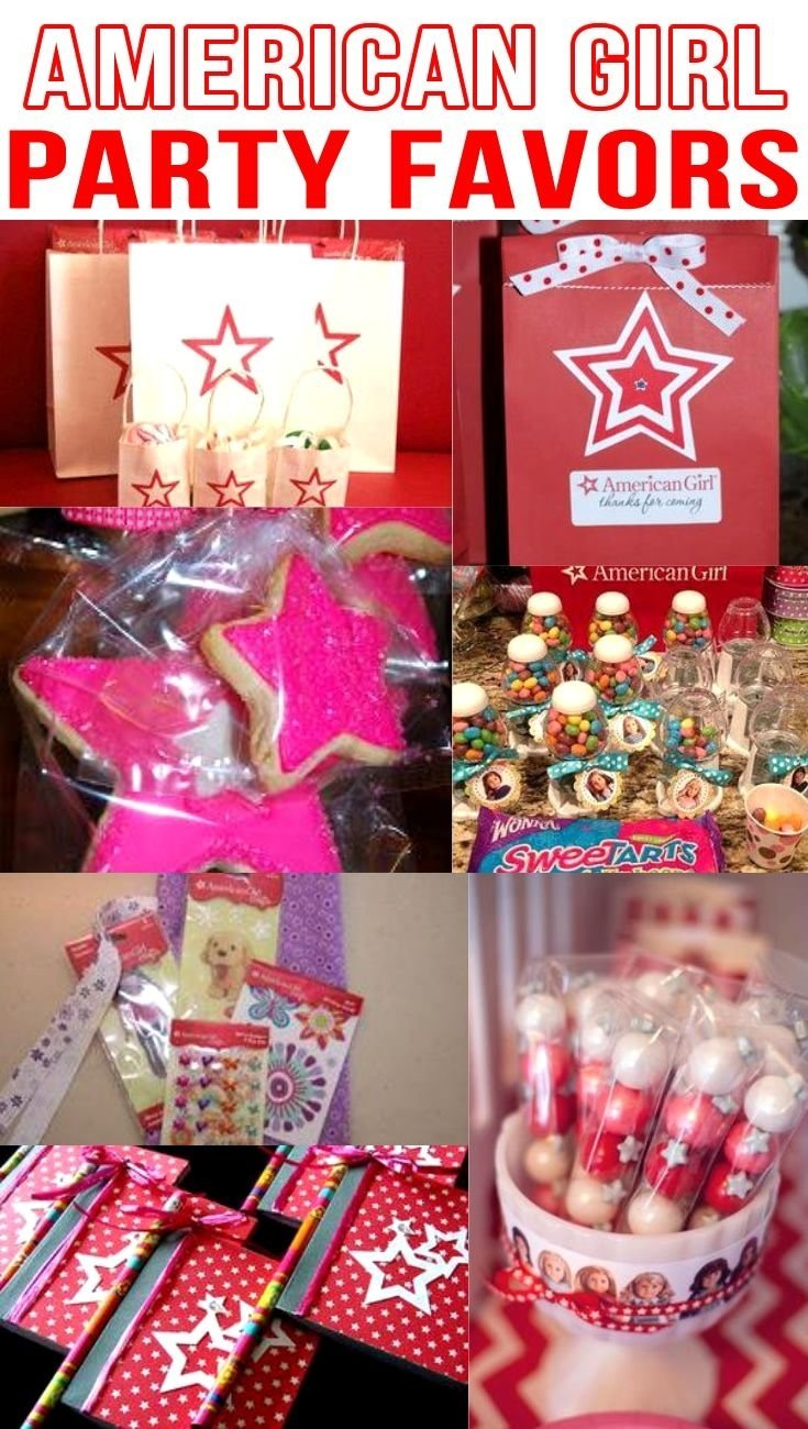 10 Attractive American Girl Doll Party Ideas american girl doll party favor ideas doll party american girl