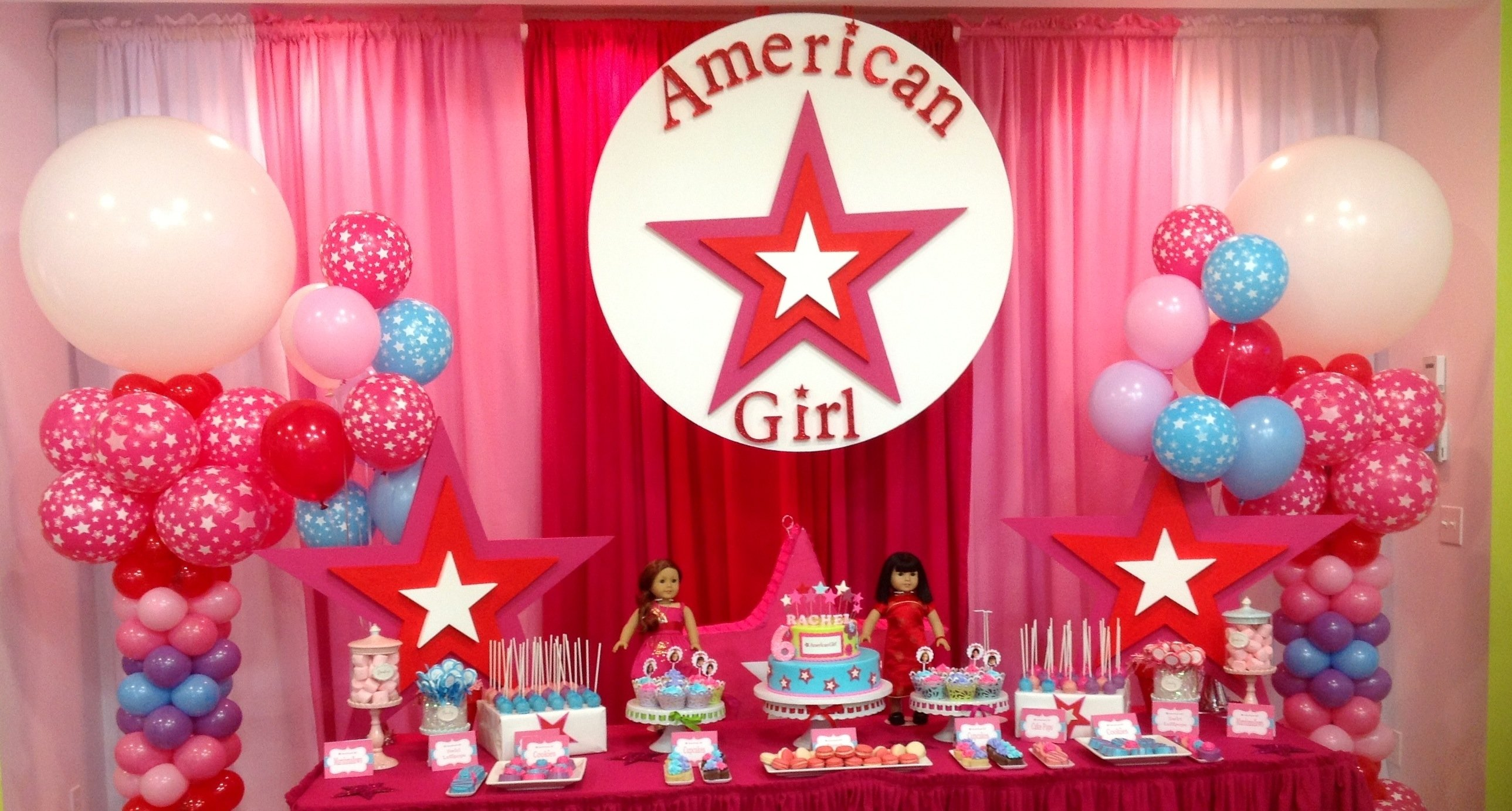 10 Attractive American Girl Doll Party Ideas american girl party american girl party ideas pinterest