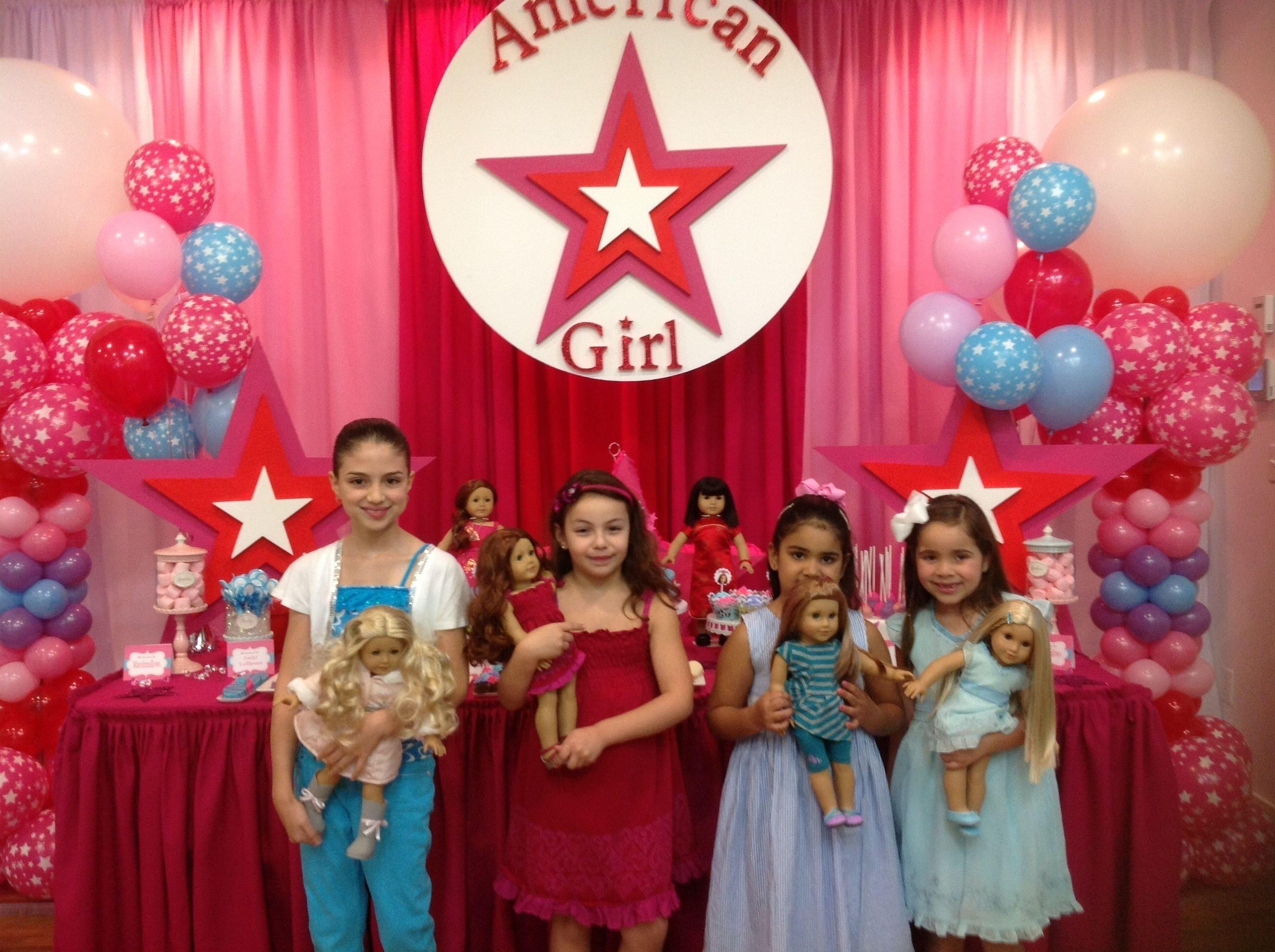 10 Spectacular American Girl Birthday Party Ideas american girl party fabulous kid party ideas pinterest 2020
