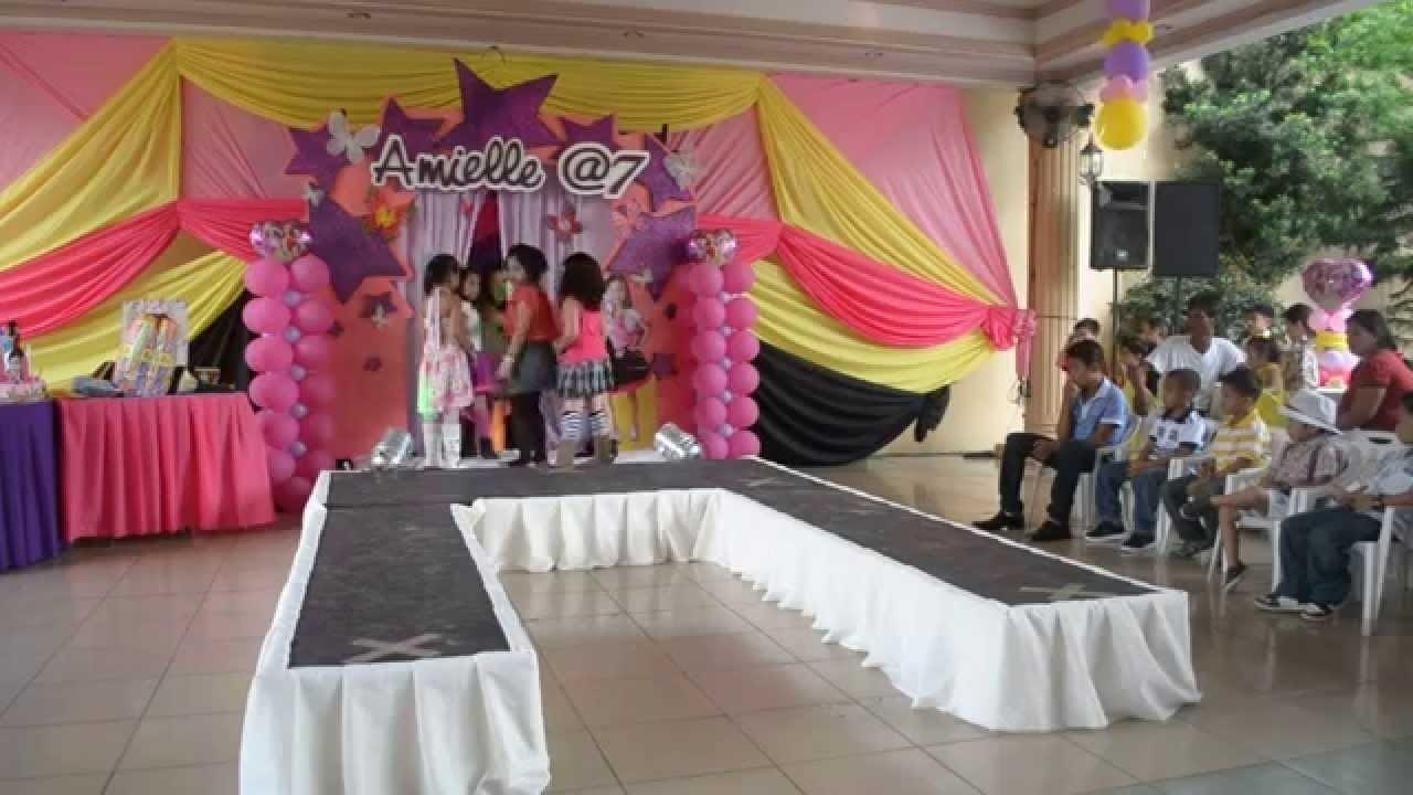 10 Unique Fashion Show Birthday Party Ideas amielles 7th birthday party 7 little fashion models youtube