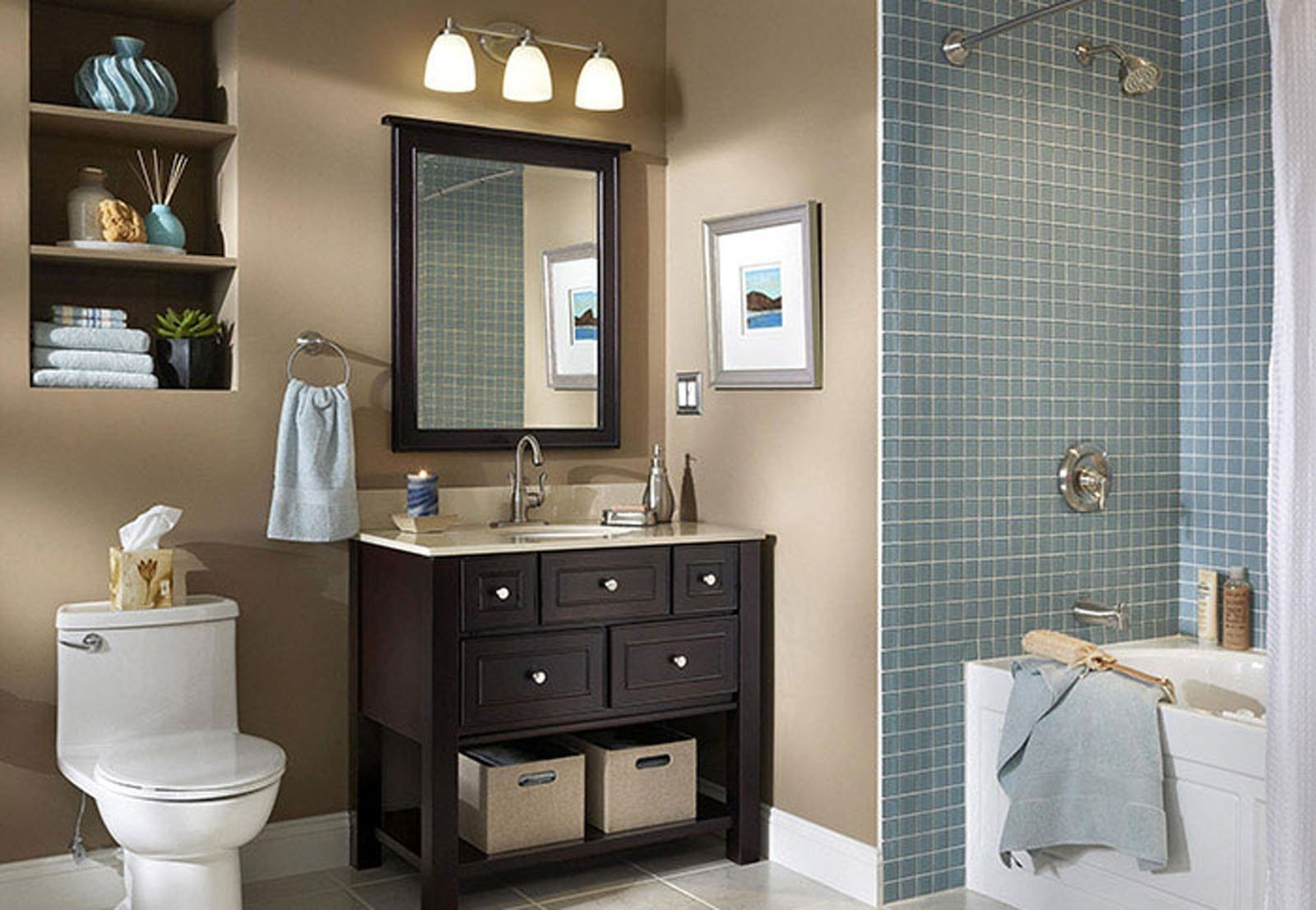 10 Pretty Paint Ideas For Small Bathrooms amusing bathrooms design small with showers only bathroom ideas on 2021