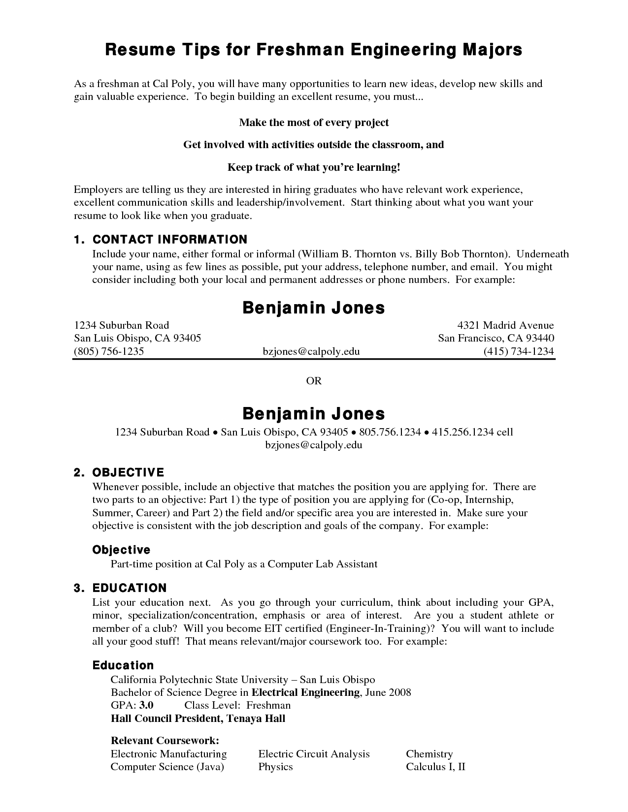 10 Most Popular Summer Job Ideas For College Students amusing resumes samples for college students summer jobs for your 2021