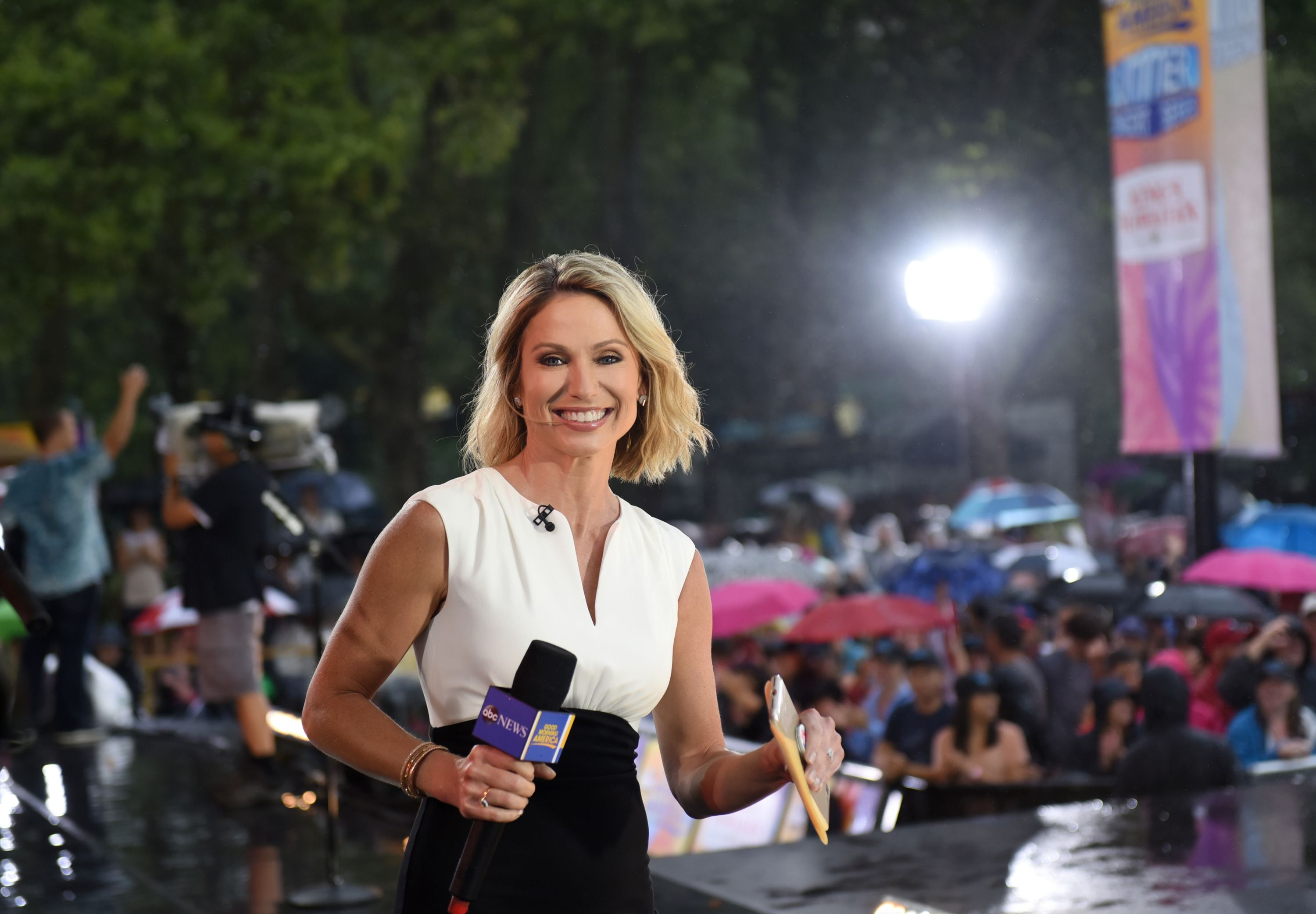 "amy robach is officially stepping away from ""good morning america"""
