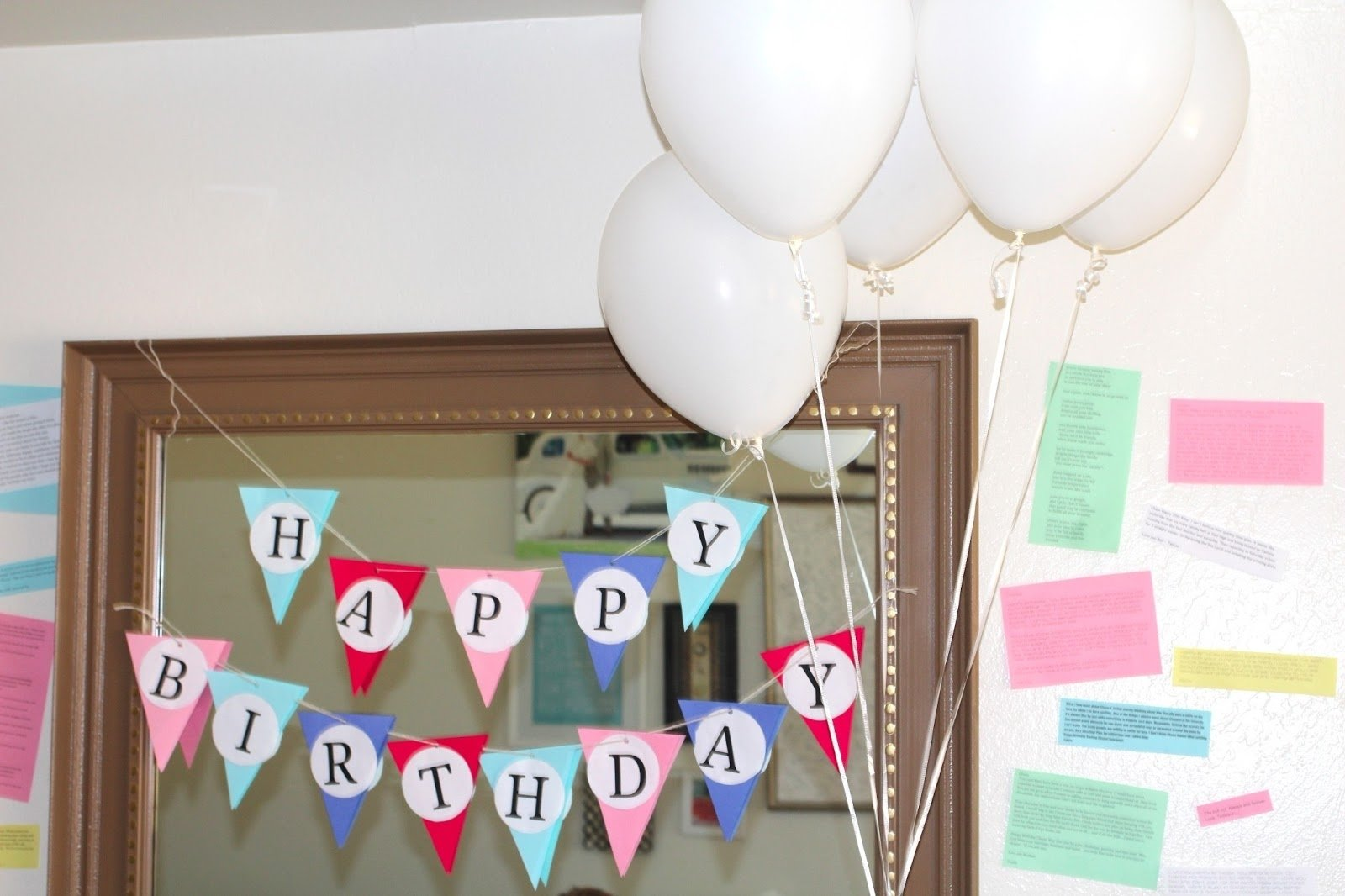 an early birthday party for husband | well-traveled wife