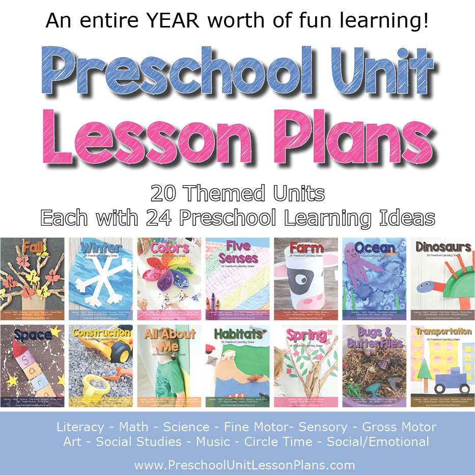 10 Attractive Thematic Unit Ideas For Preschool an entire year of preschool lesson plans 2020