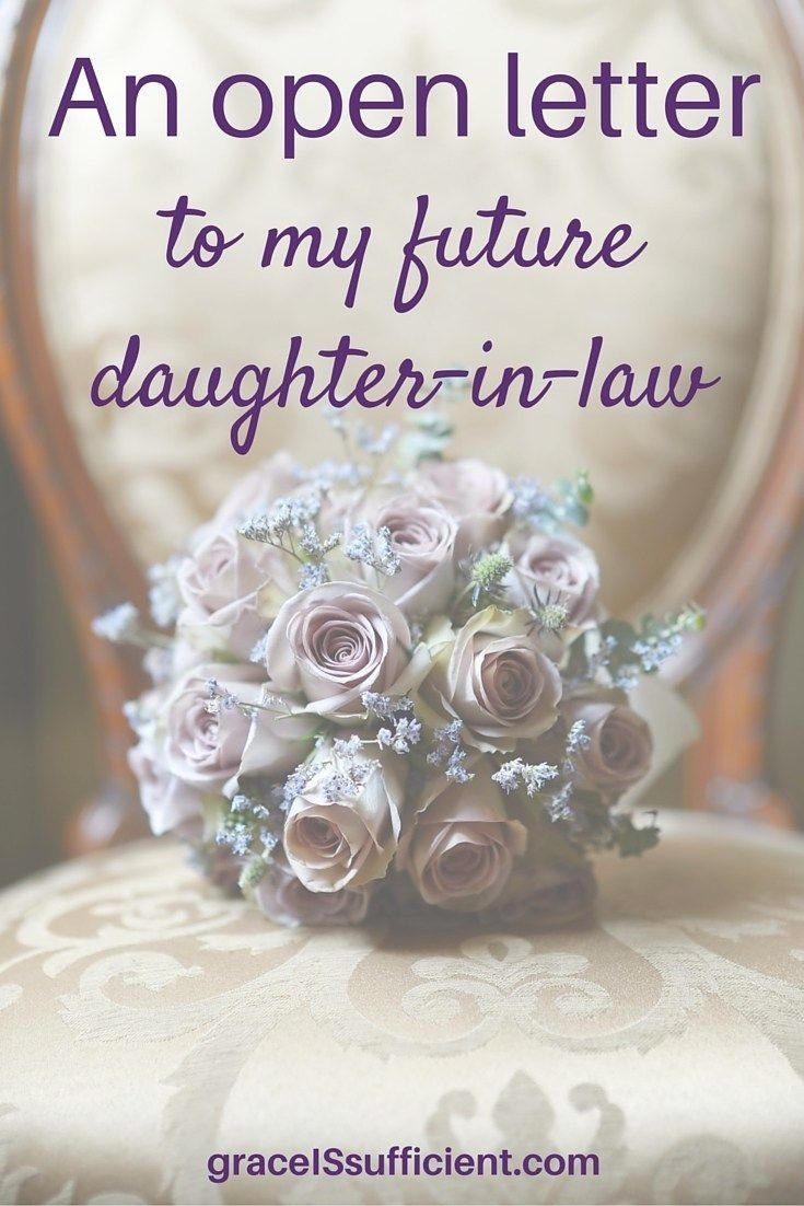 10 Stylish Gift Ideas For Daughter In Law an open letter to my future daughter in law future daughter open 1 2020