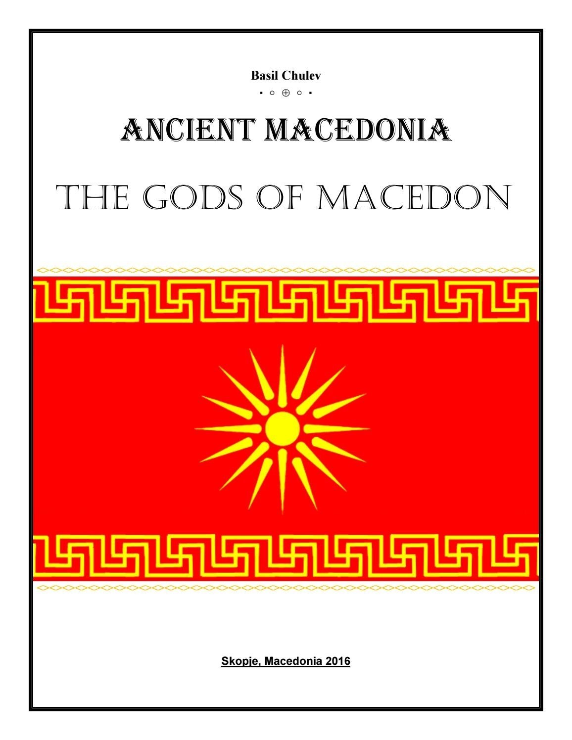 10 Perfect The Phoenicians Borrowed Religious Ideas From ancient macedonia the gods of macedonbasil of macedon issuu 2020