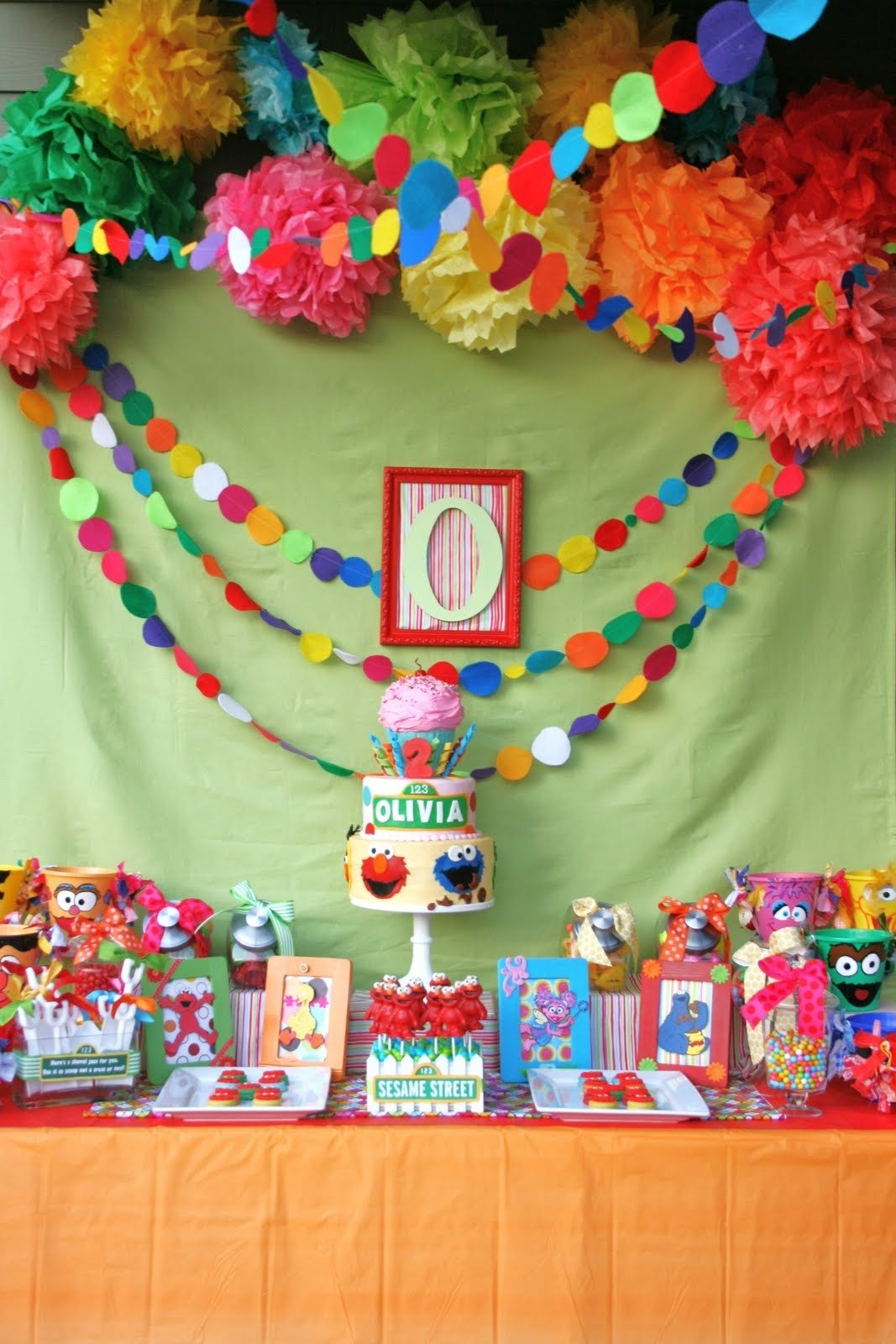 10 Lovely Sesame Street Party Ideas Decorations and everything sweet olivias sesame street party 2020